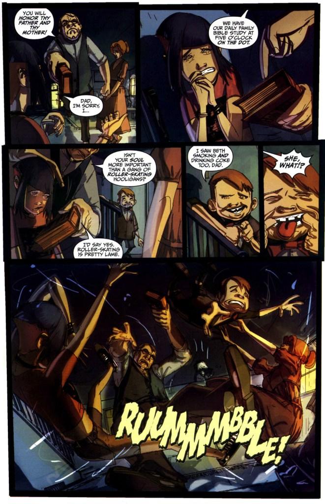 Strange Girl Issue #1 #2 - English 7