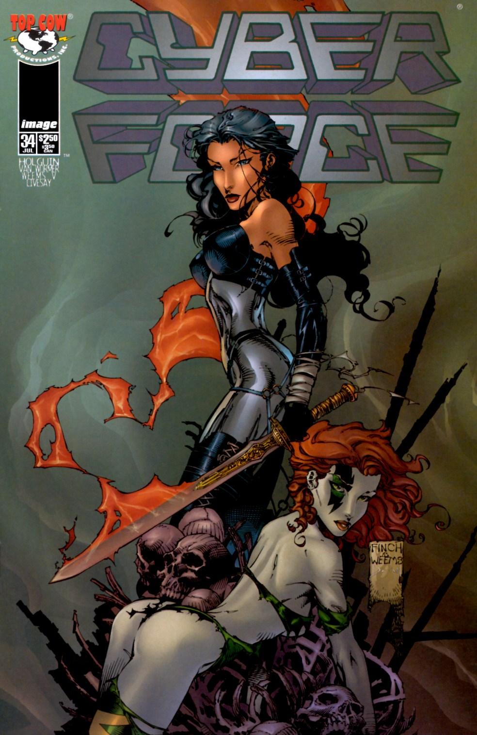 Cyberforce (1993) 34 Page 1