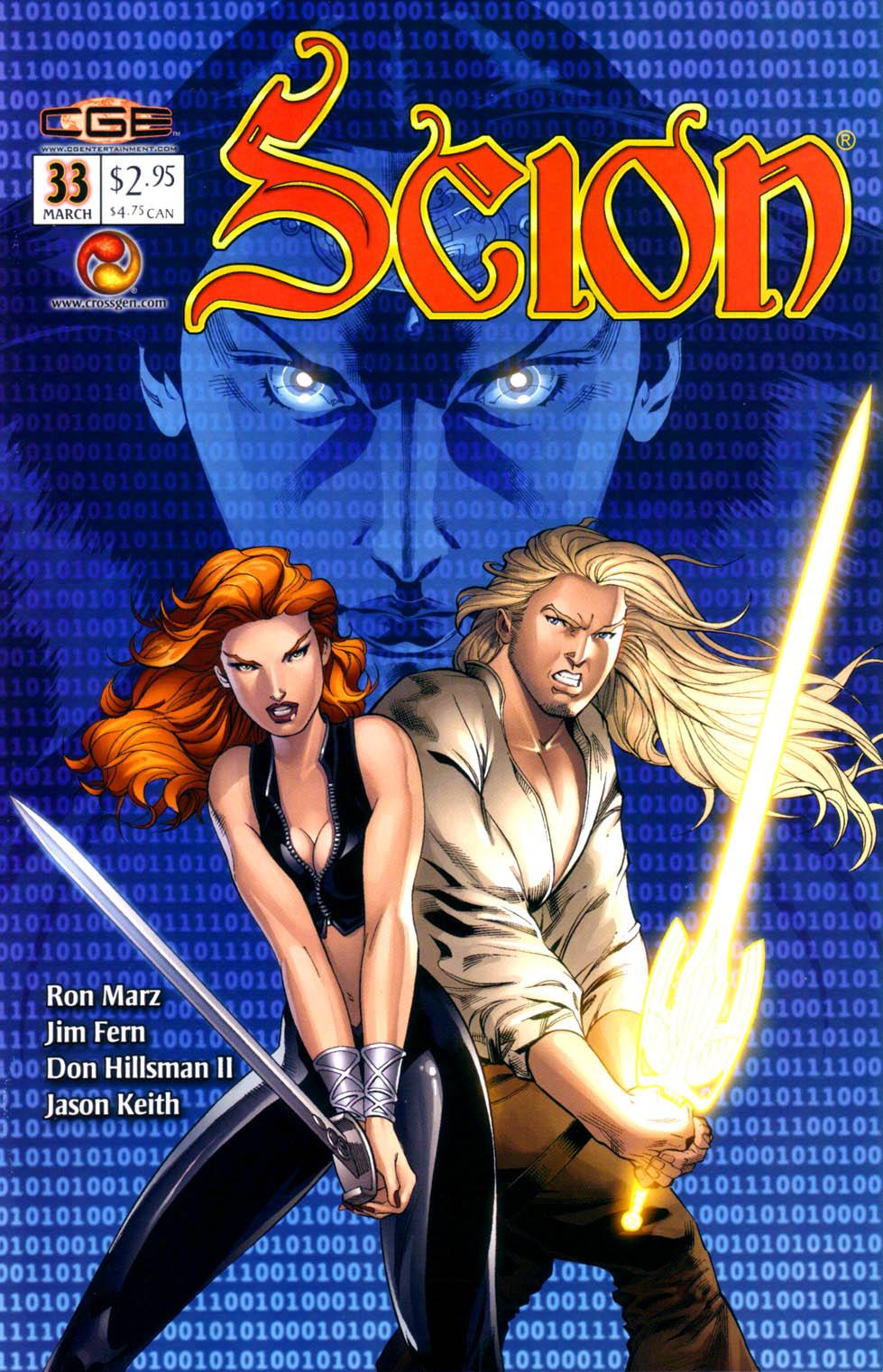 Read online Scion comic -  Issue #33 - 1
