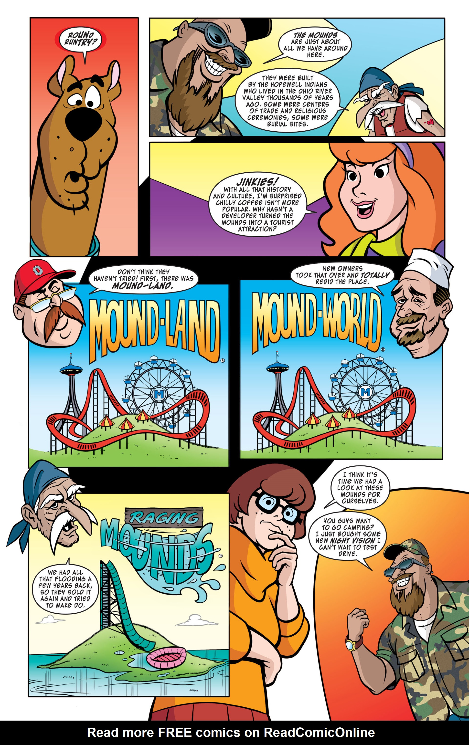 Read online Scooby-Doo: Where Are You? comic -  Issue #41 - 4