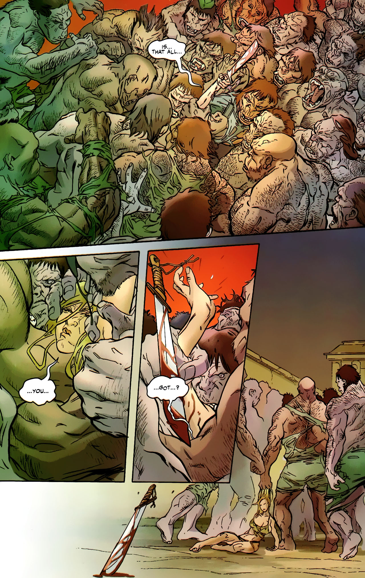 Read online Shanna the She-Devil: Survival of the Fittest comic -  Issue #2 - 16