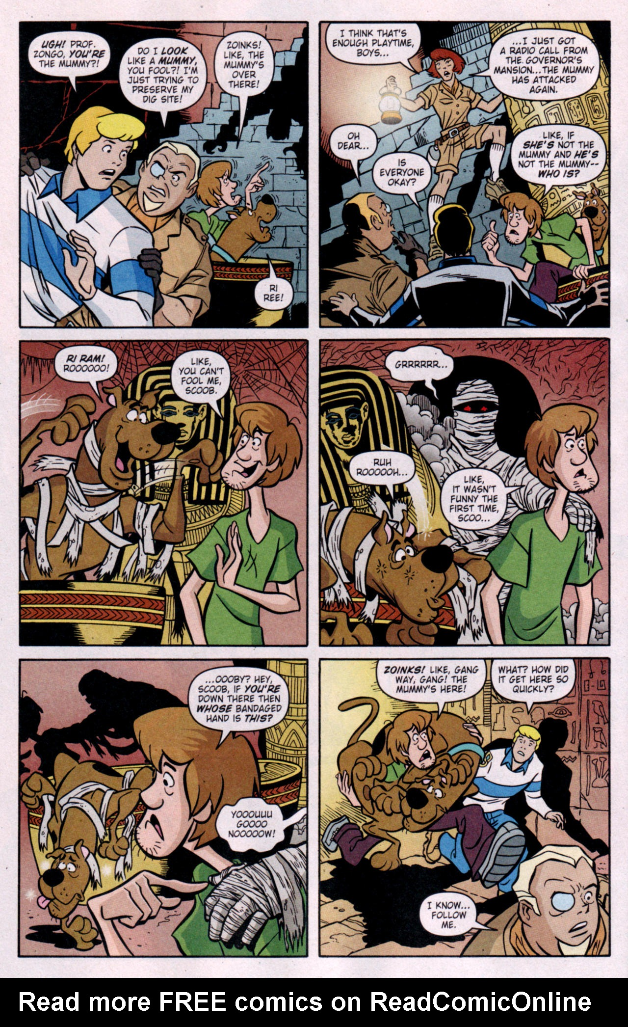 Read online Scooby-Doo (1997) comic -  Issue #119 - 7