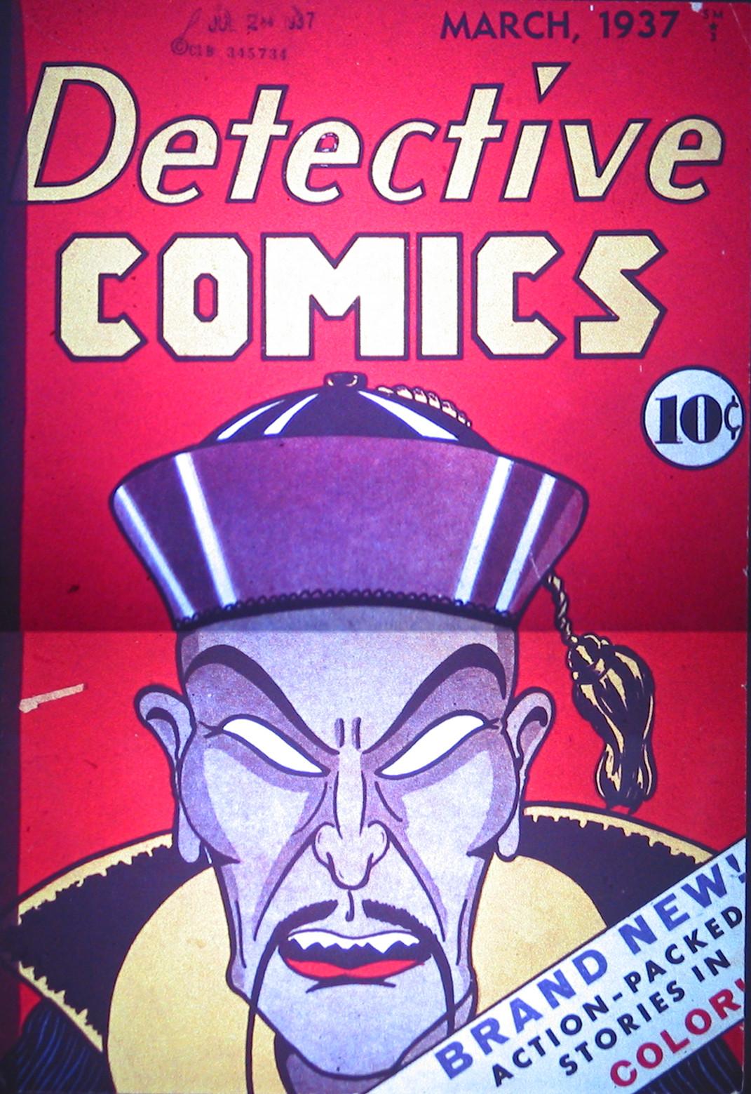 Detective Comics (1937) 1 Page 1