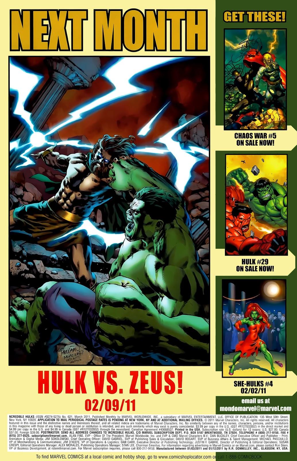 Incredible Hulks (2010) Issue #621 #11 - English 35