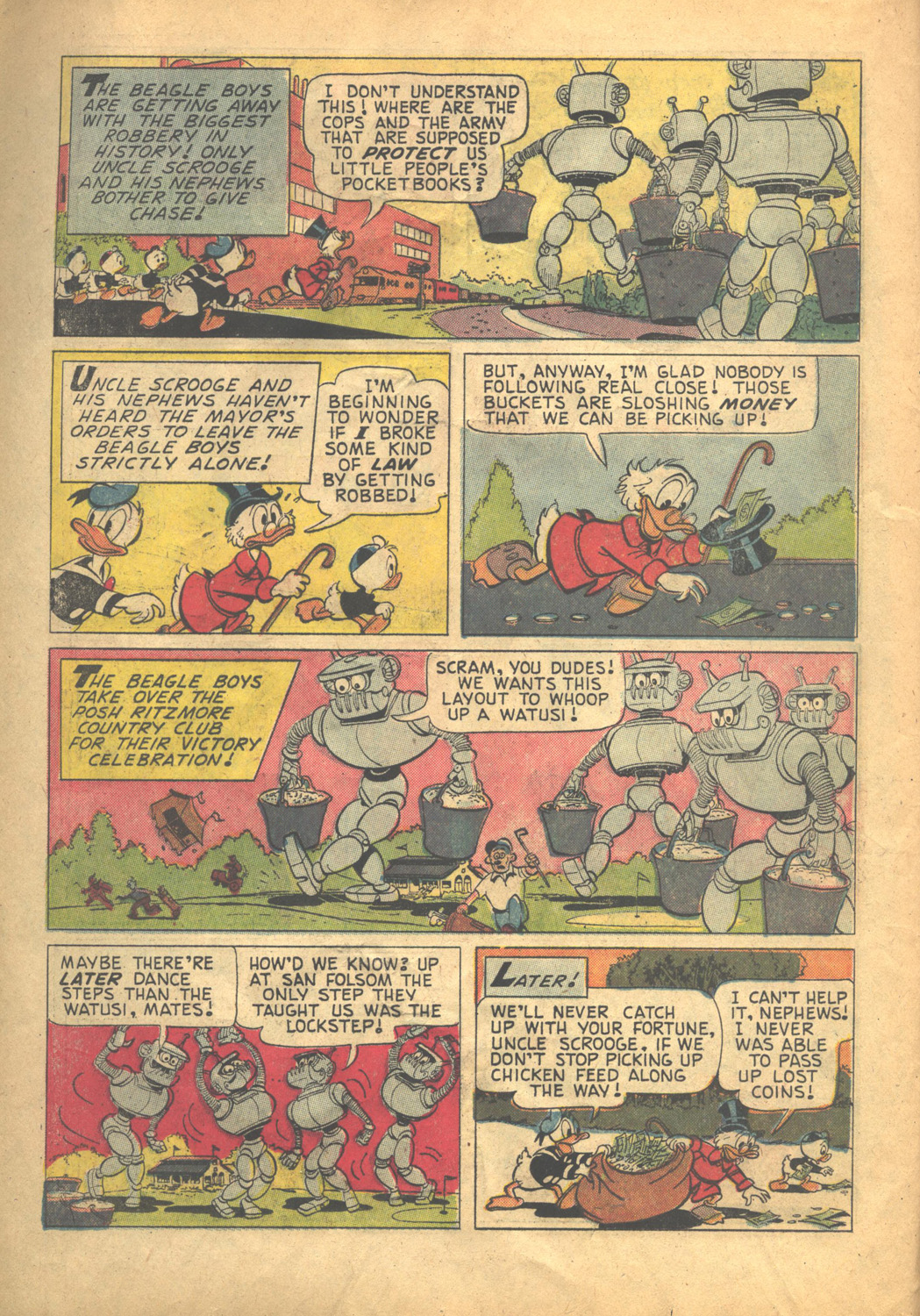 Uncle Scrooge (1953) Issue #58 #58 - English 14