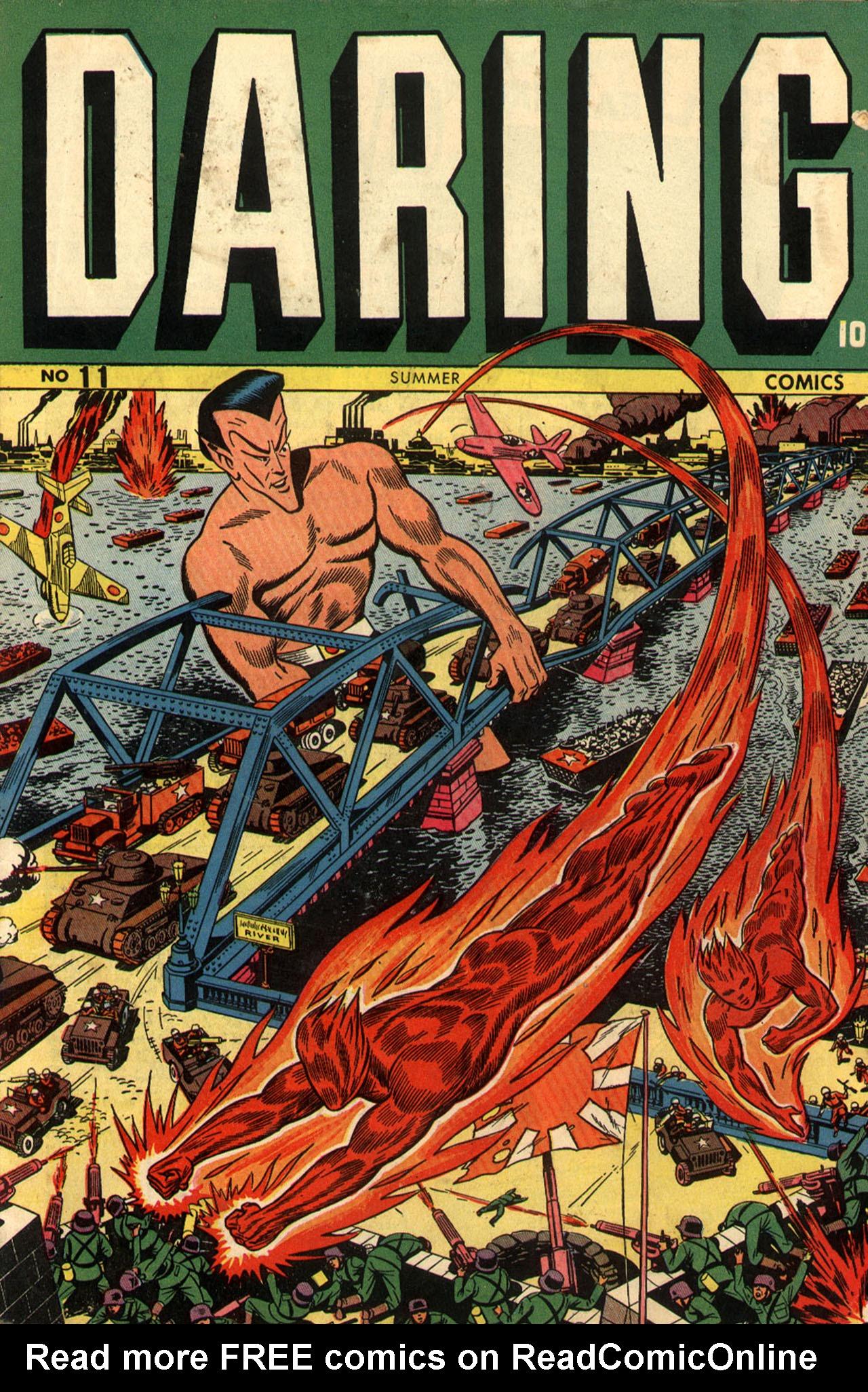 Daring Comics 11 Page 1