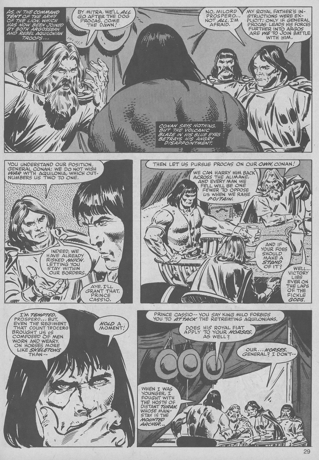 The Savage Sword Of Conan Issue #50 #51 - English 29