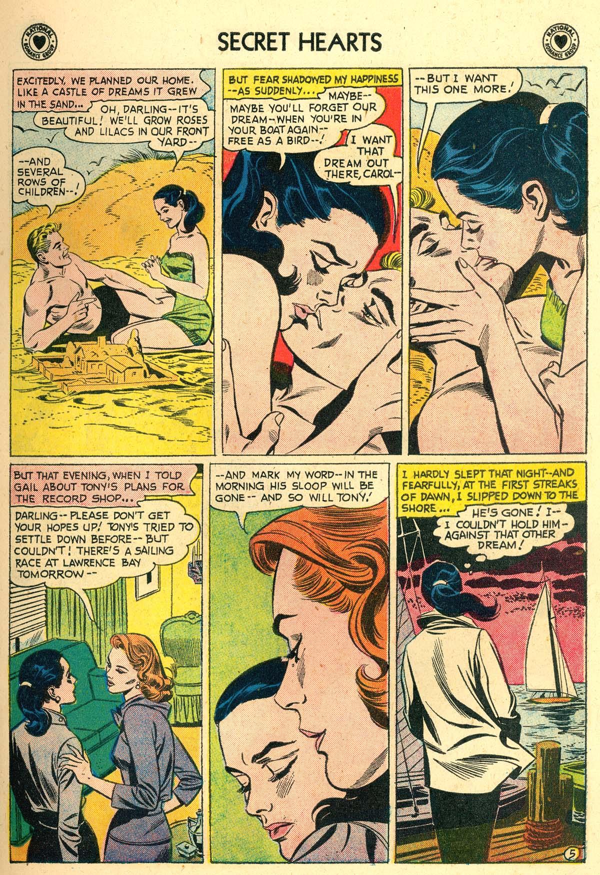 Read online Secret Hearts comic -  Issue #56 - 7