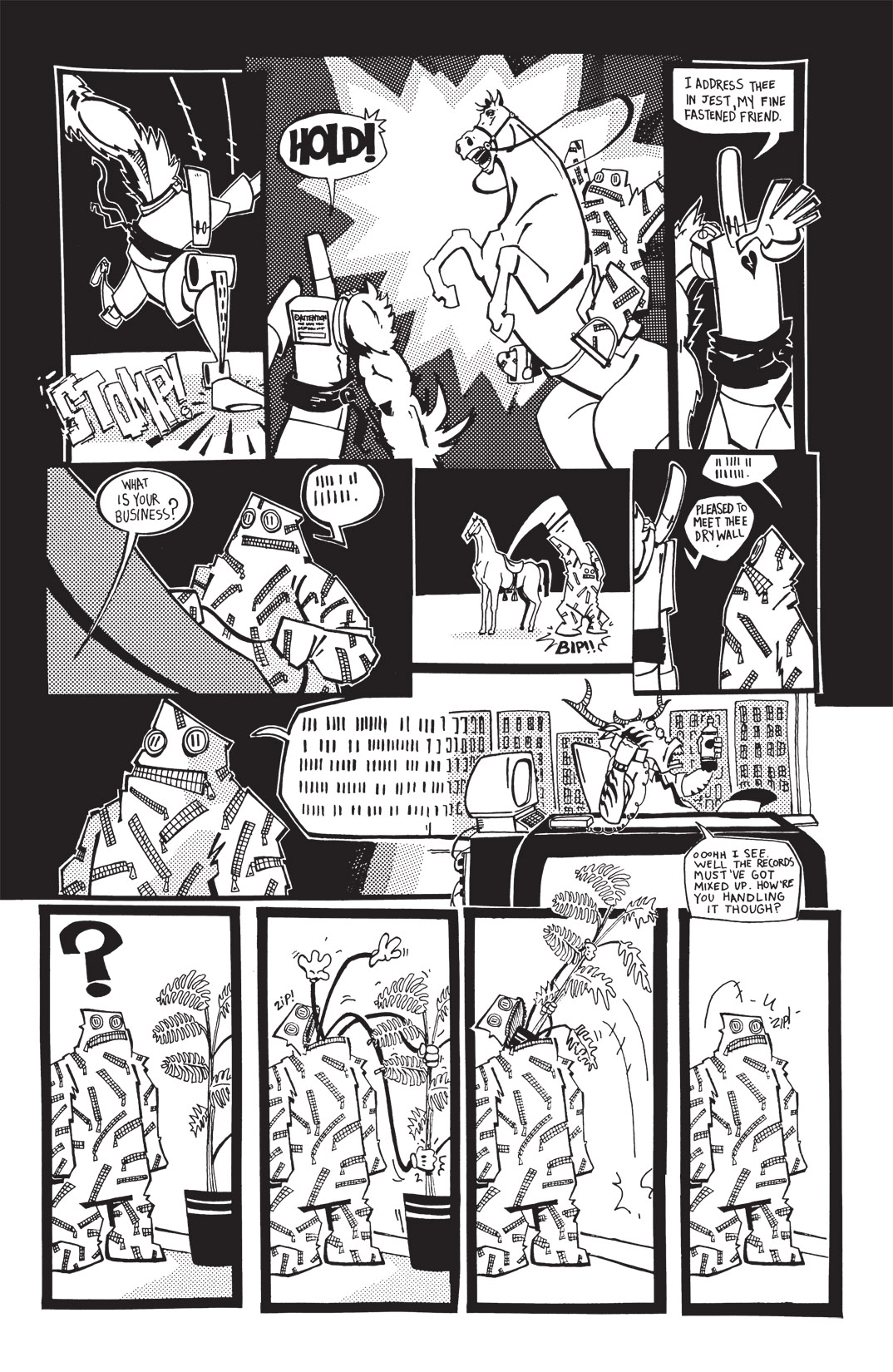 Read online Scud: The Disposable Assassin: The Whole Shebang comic -  Issue # TPB (Part 1) - 206