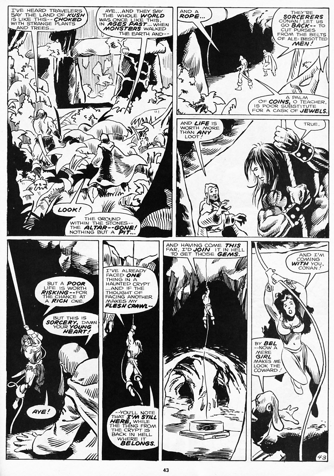The Savage Sword Of Conan Issue #180 #181 - English 45