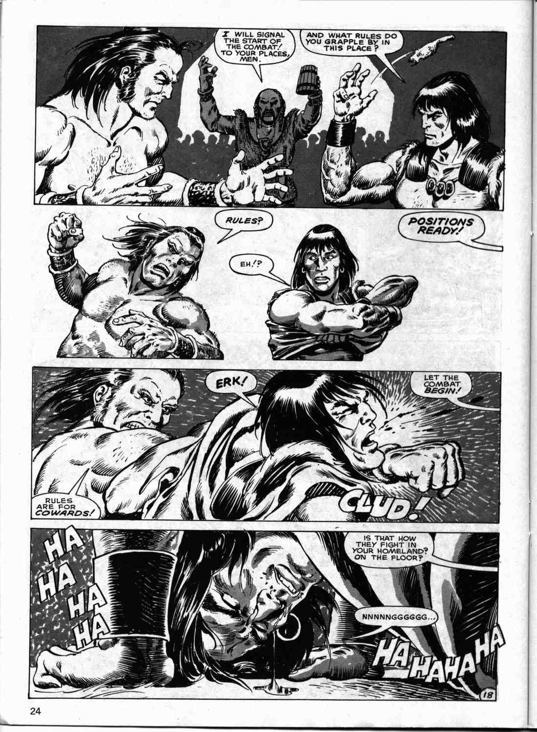 The Savage Sword Of Conan Issue #133 #134 - English 23