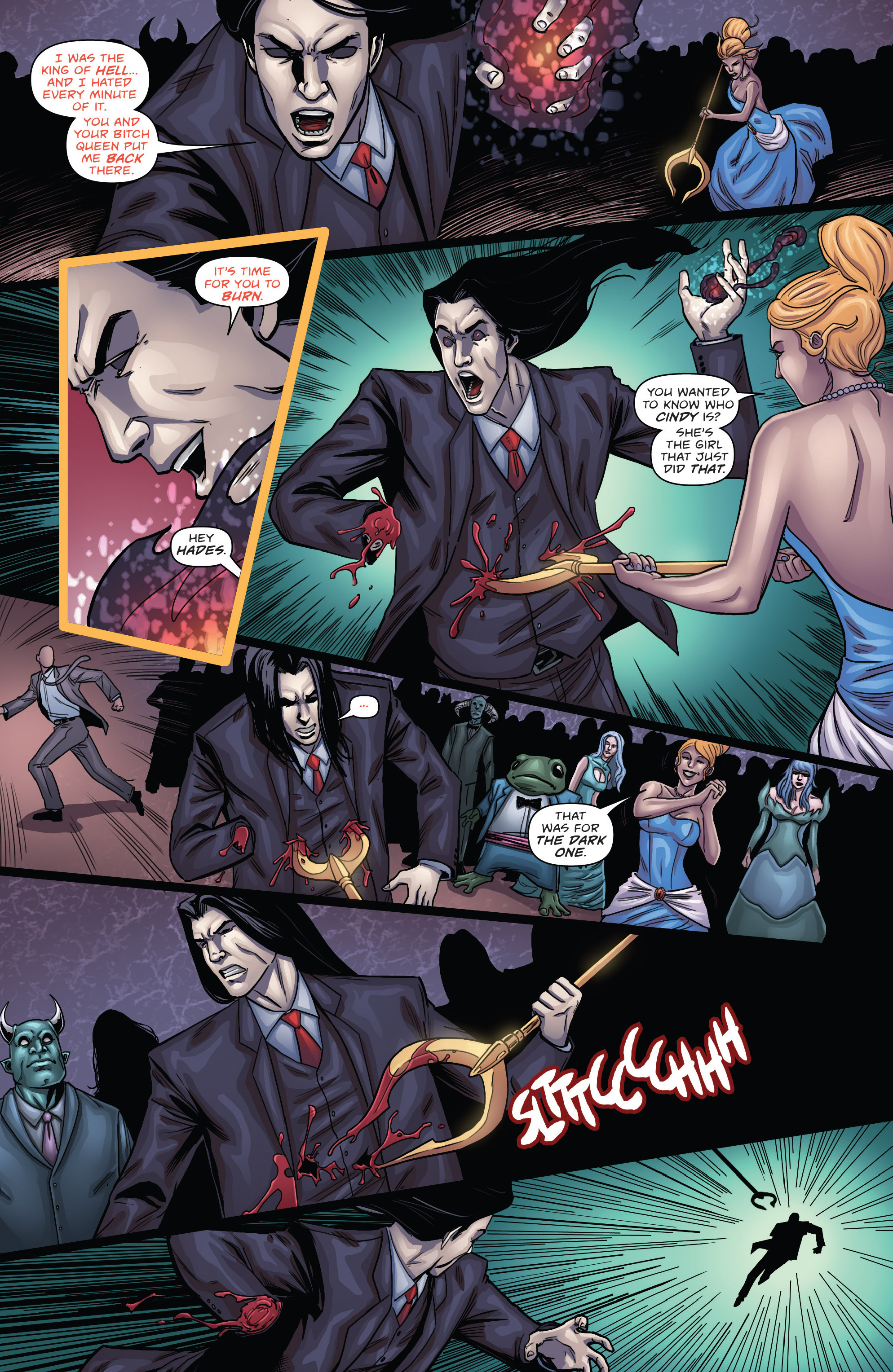 Read online Grimm Fairy Tales presents Cinderella: Age of Darkness comic -  Issue #3 - 19