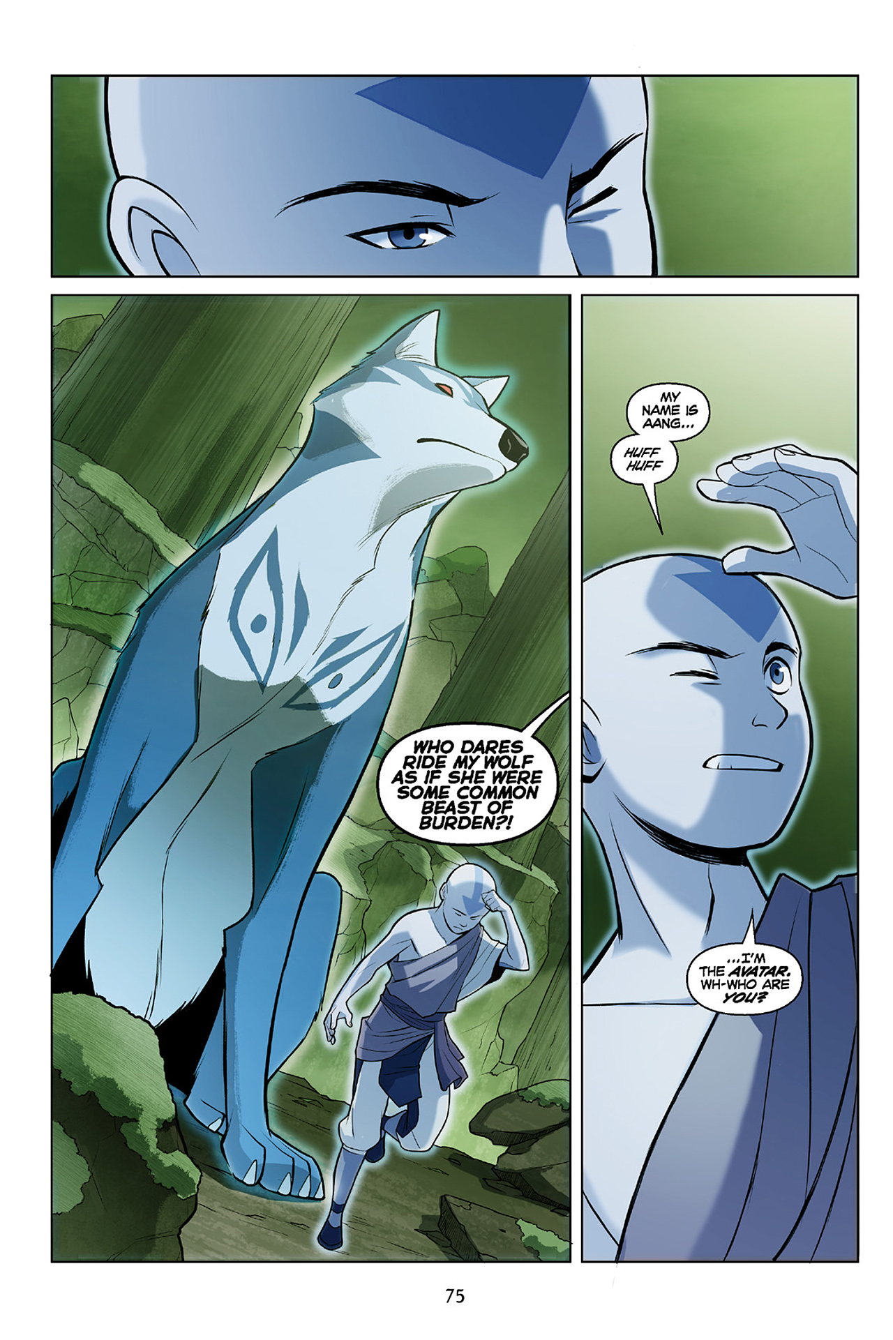 Read online Nickelodeon Avatar: The Last Airbender - The Search comic -  Issue # Part 2 - 76