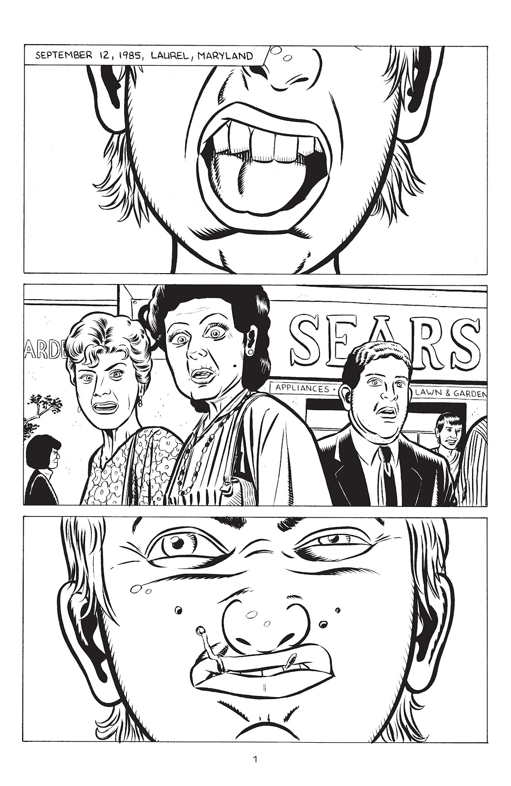 Stray Bullets Issue #32 #32 - English 3