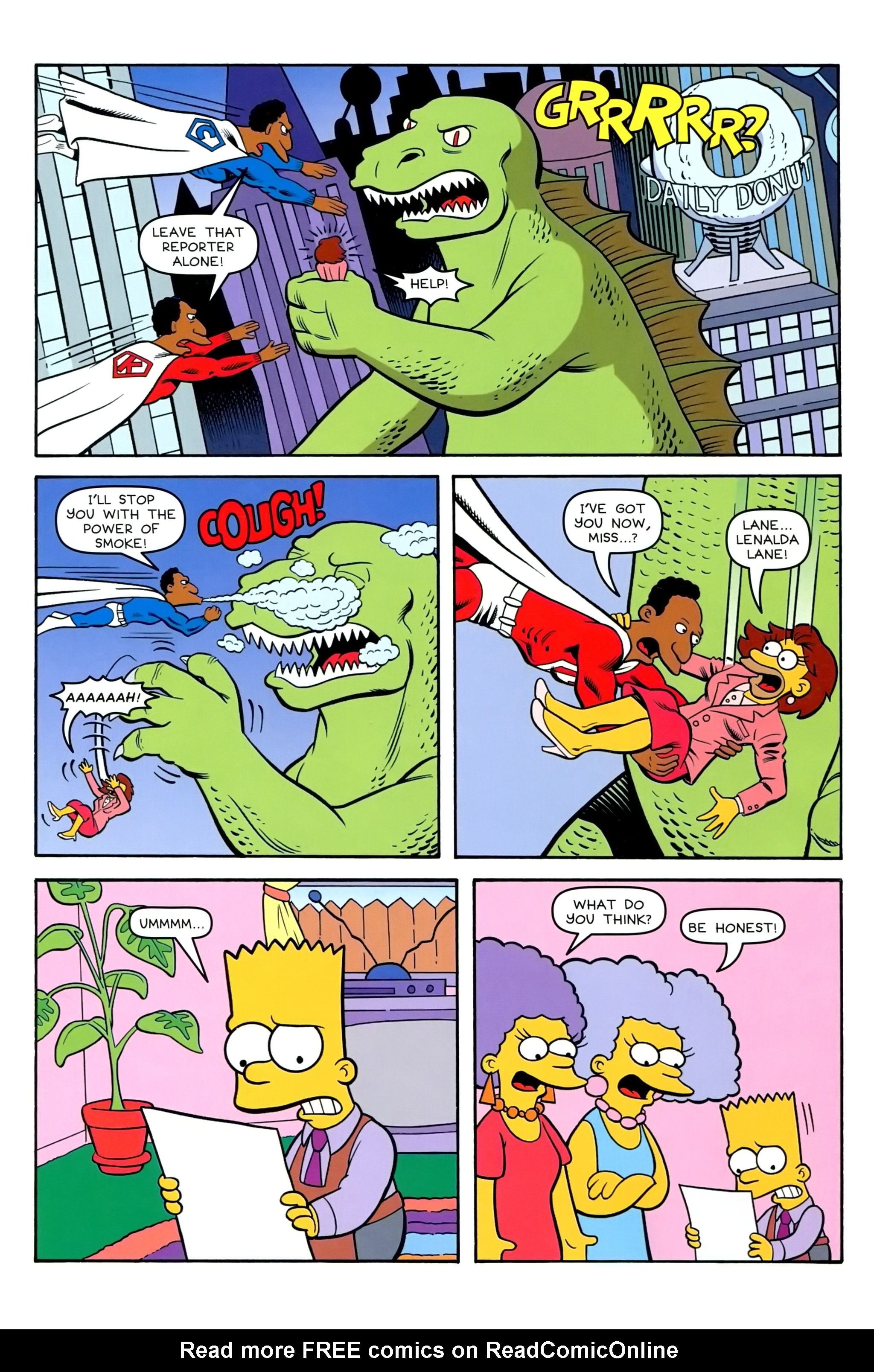 Read online Simpsons Comics comic -  Issue #239 - 17