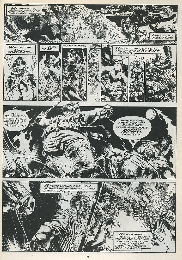 The Savage Sword Of Conan Issue #175 #176 - English 37