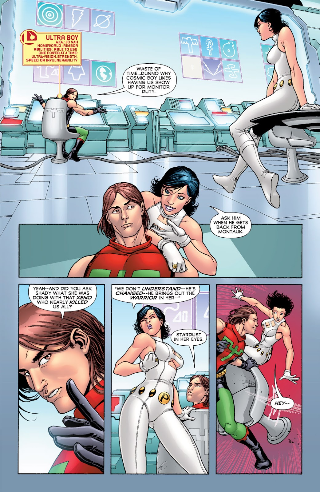 Legion of Super-Heroes (2010) Issue #6 #7 - English 12