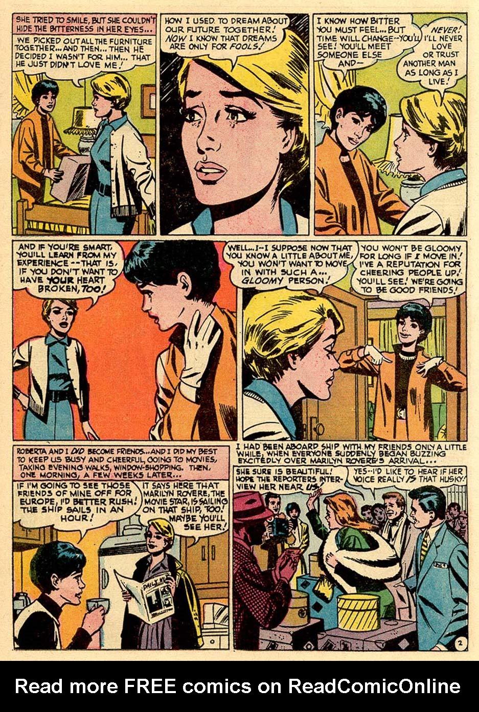 Read online Secret Hearts comic -  Issue #122 - 12
