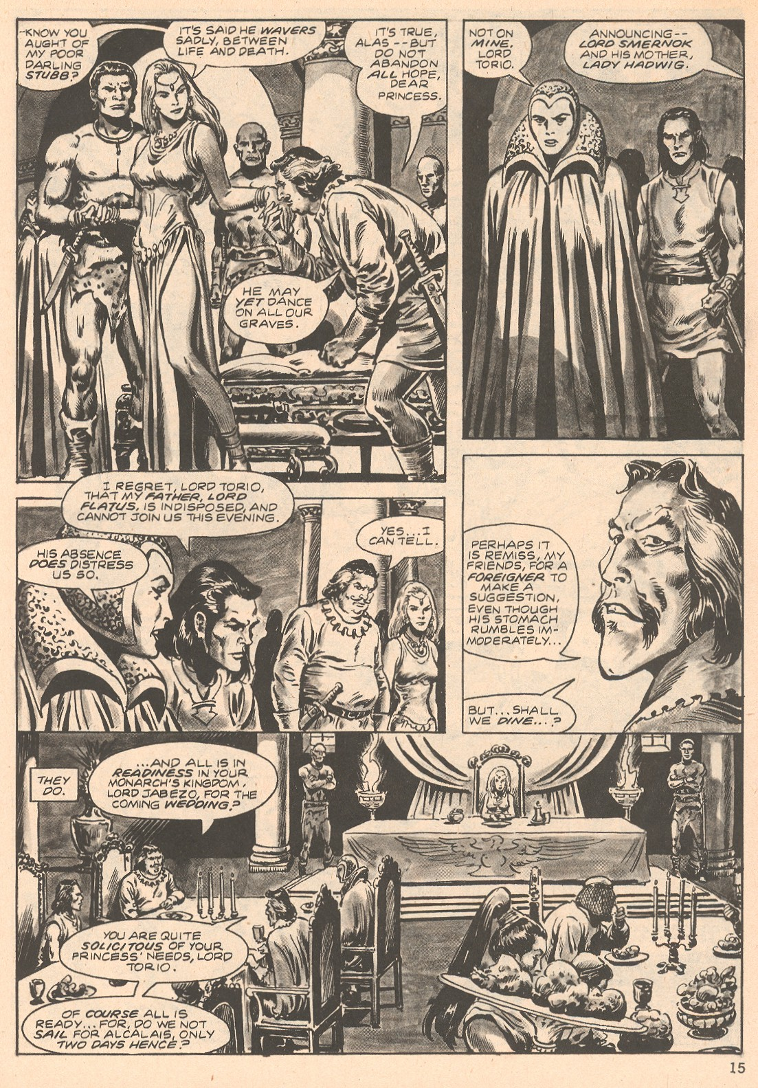 The Savage Sword Of Conan Issue #66 #67 - English 15