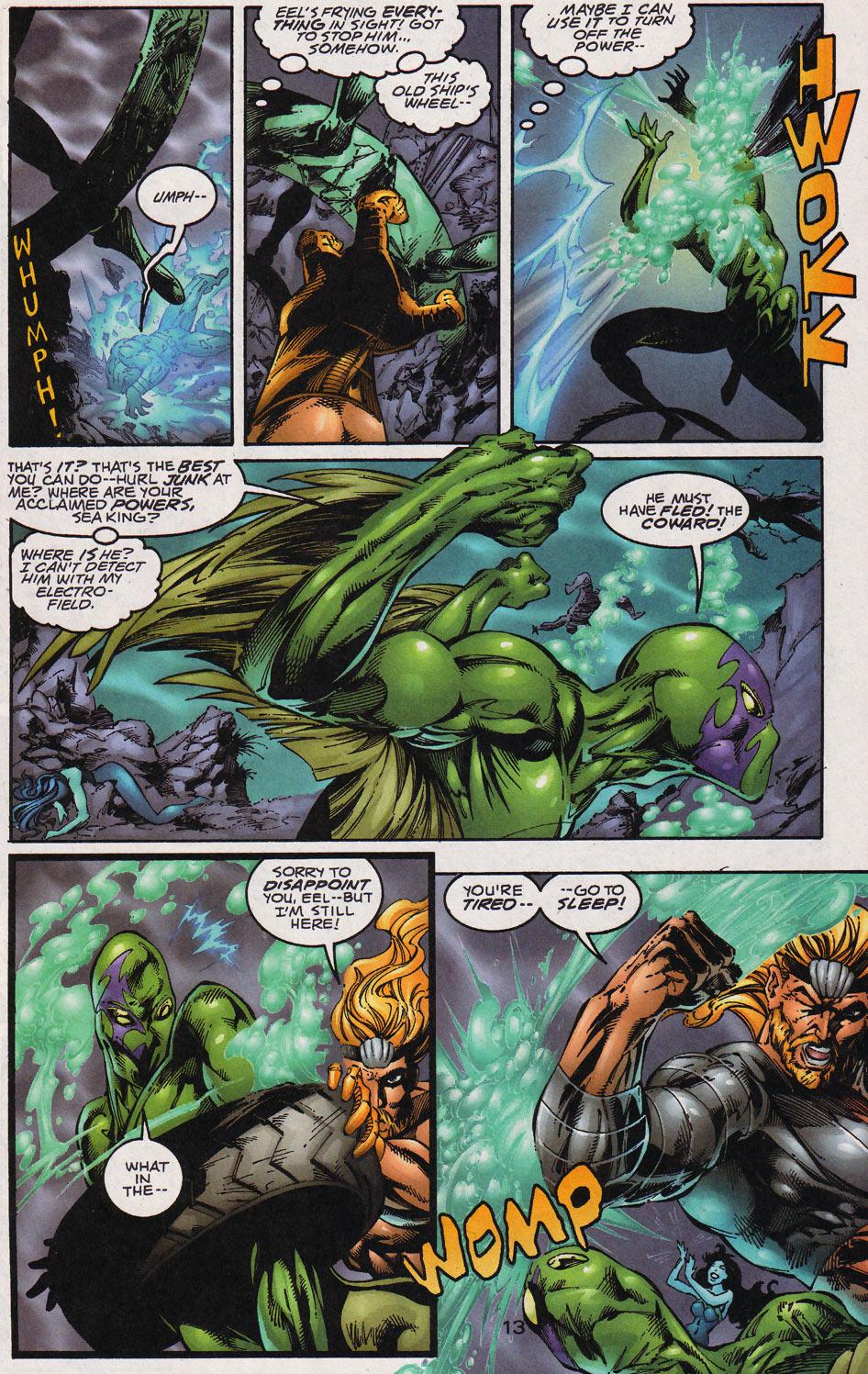 Aquaman (1994) Issue #59 #65 - English 14