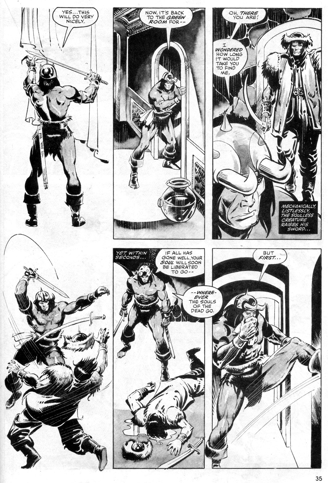 The Savage Sword Of Conan Issue #55 #56 - English 35
