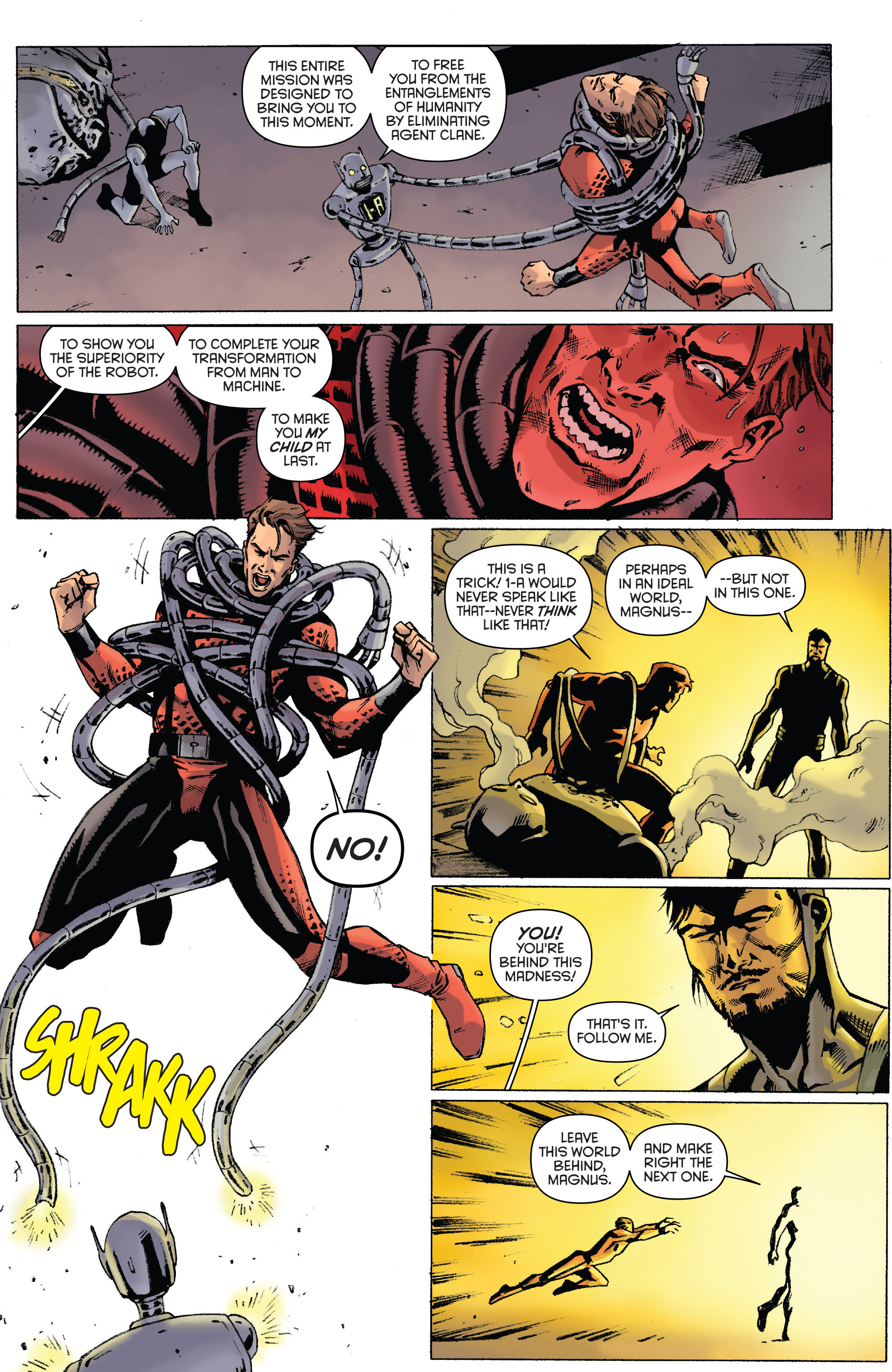Read online Gold Key: Alliance comic -  Issue #4 - 6