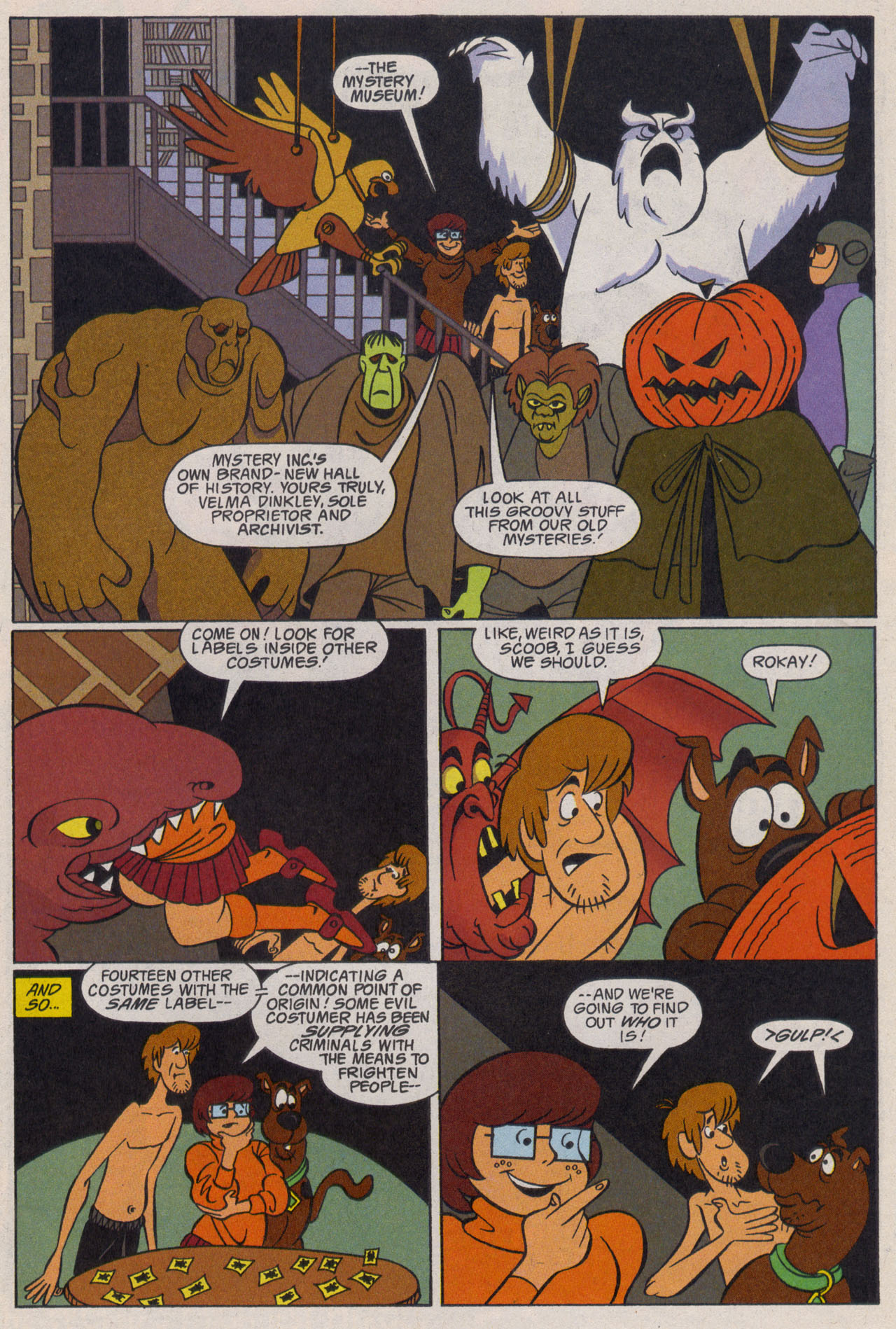 Read online Scooby-Doo (1997) comic -  Issue #9 - 24