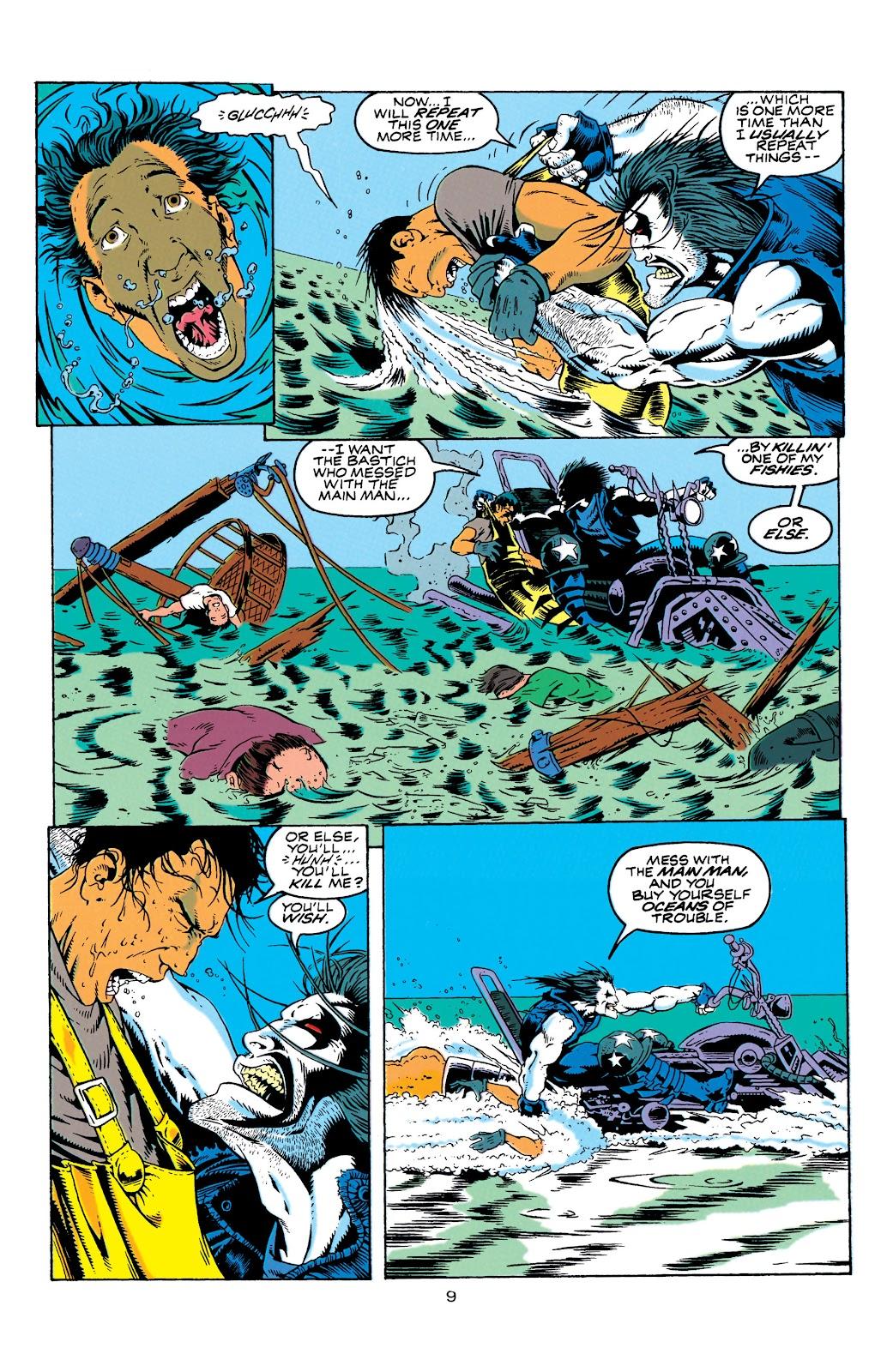 Aquaman (1994) Issue #4 #10 - English 10