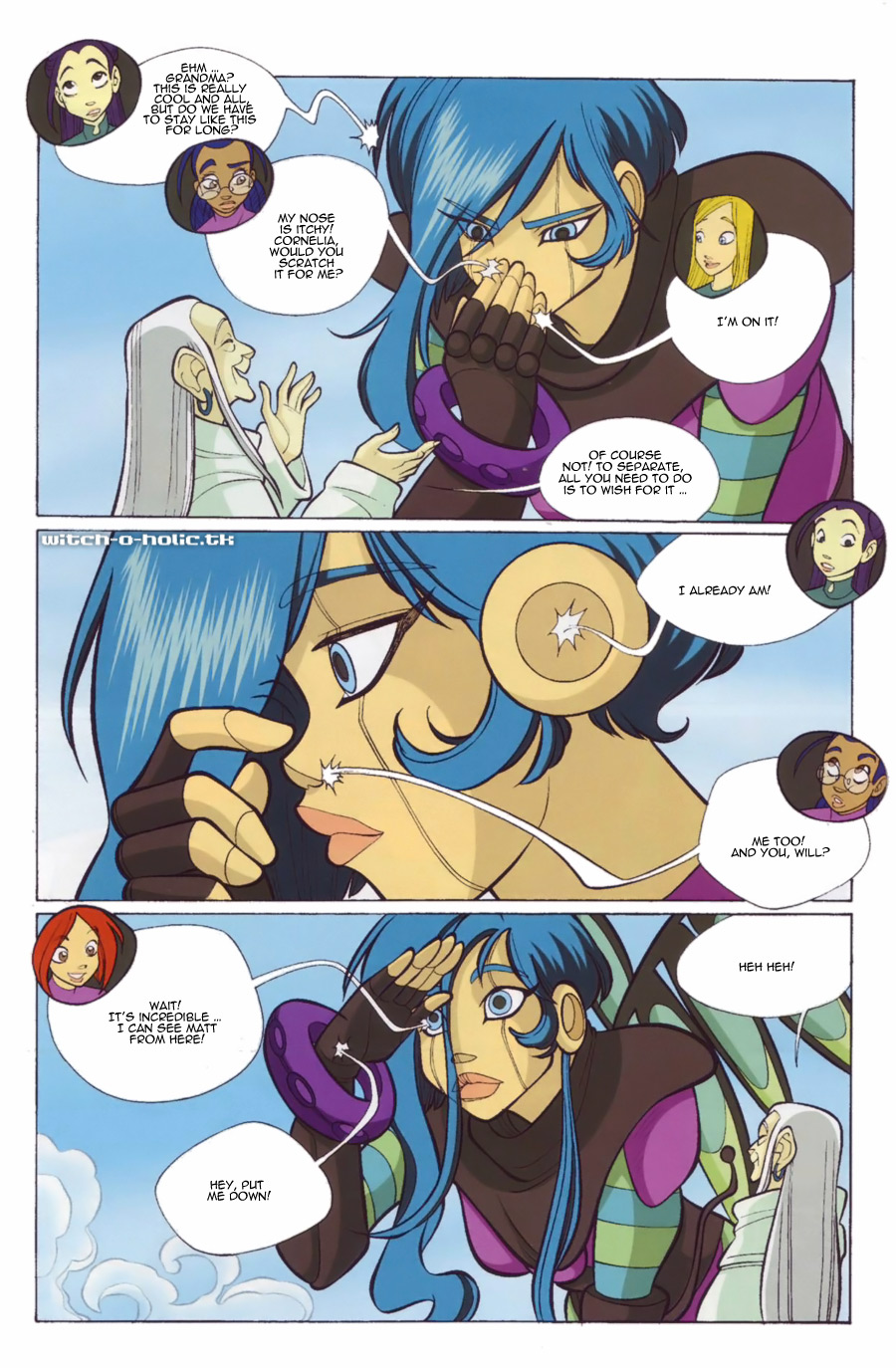Read online W.i.t.c.h. comic -  Issue #139 - 7