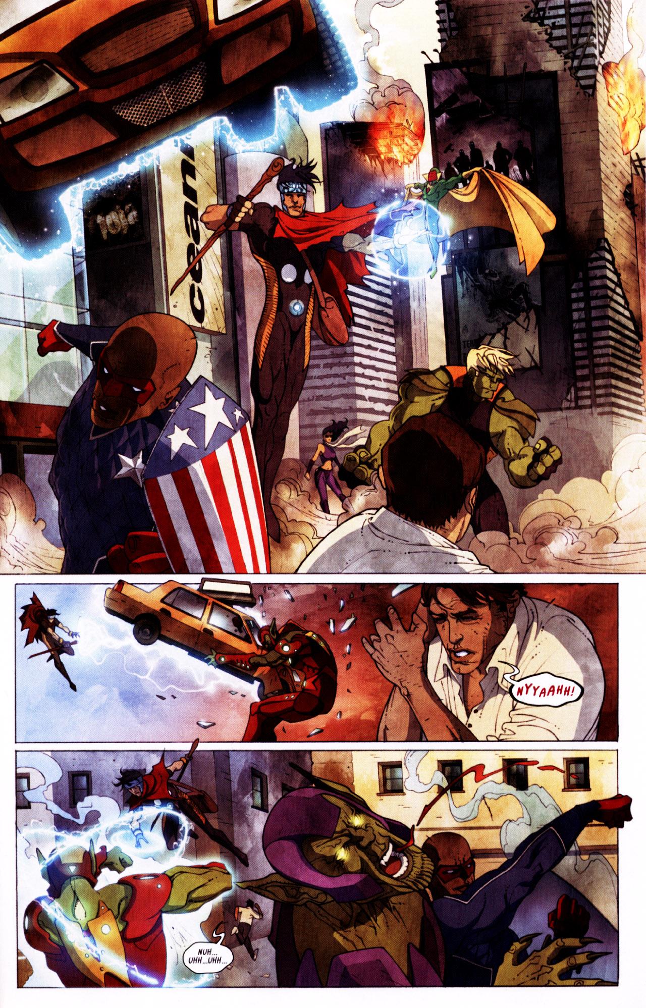 Read online Secret Invasion: Front Line comic -  Issue #2 - 17