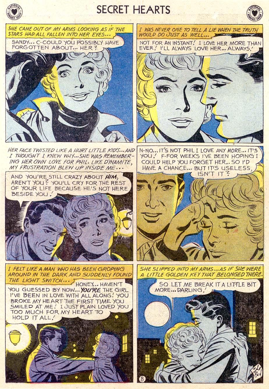 Read online Secret Hearts comic -  Issue #65 - 15