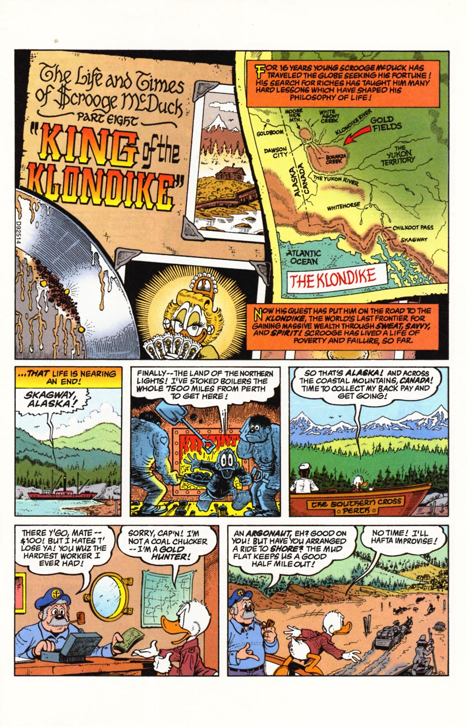 Uncle Scrooge (1953) Issue #292 #292 - English 2
