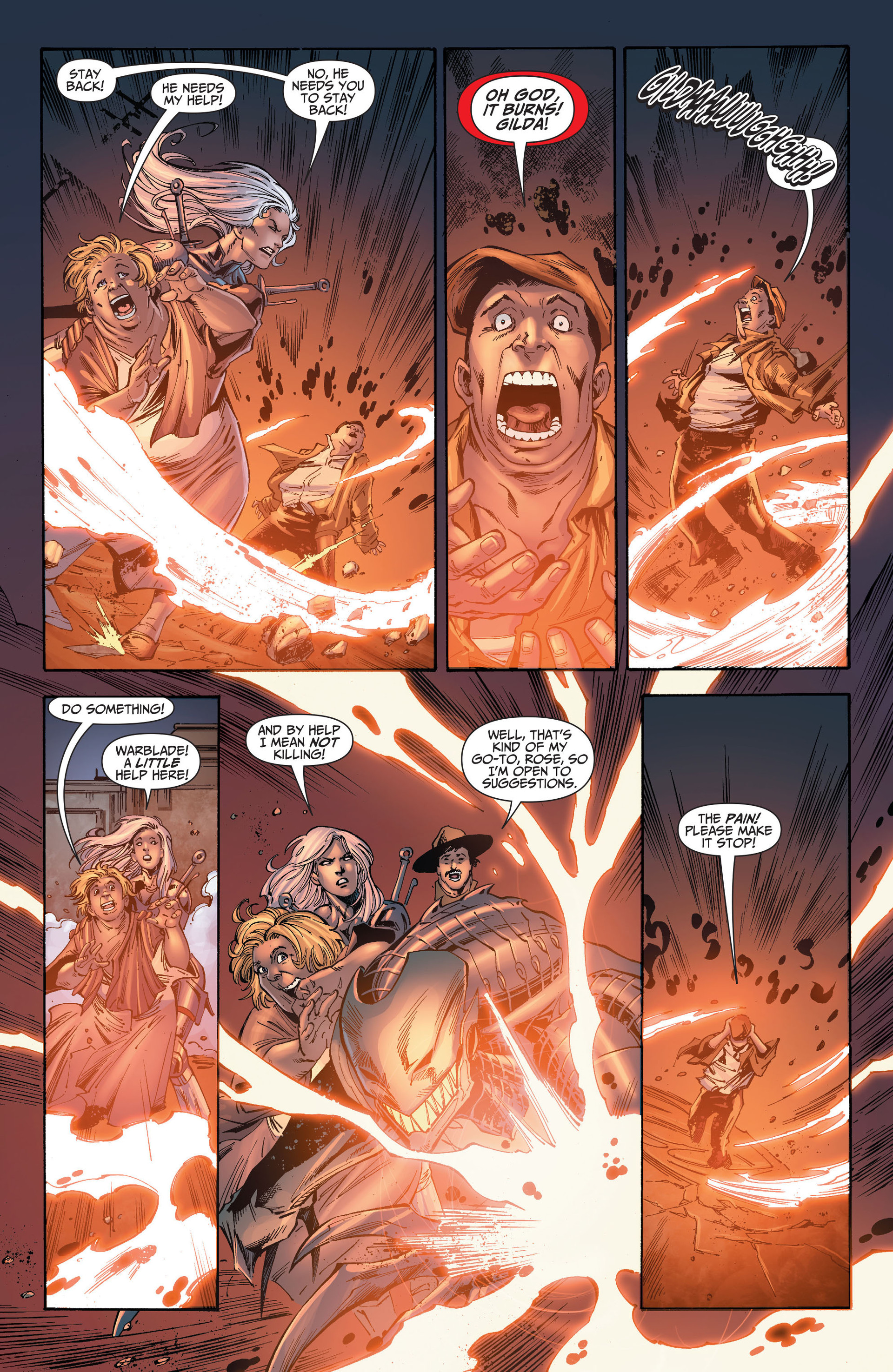 Read online The Ravagers comic -  Issue #8 - 11