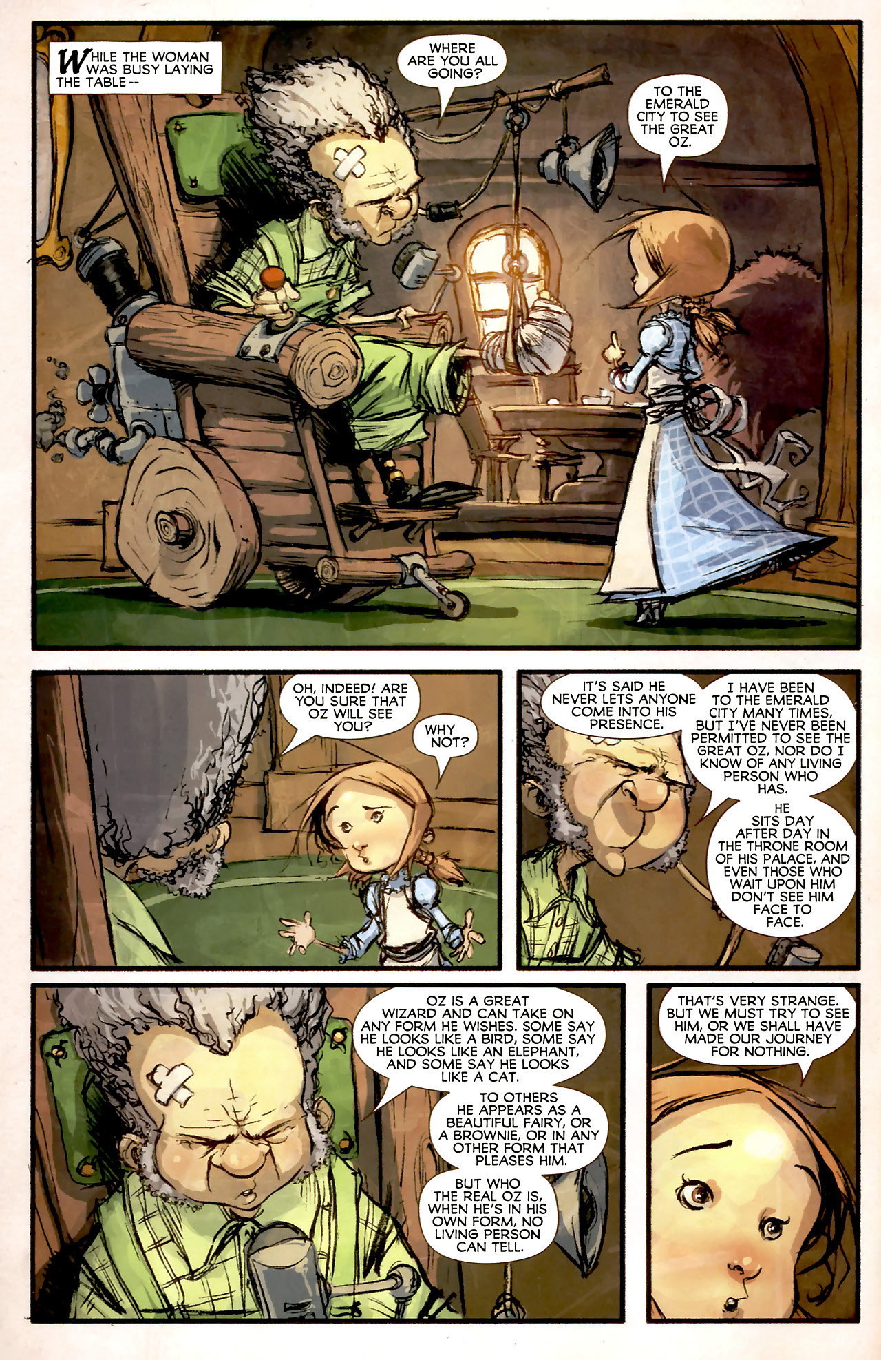 Read online The Wonderful Wizard of Oz comic -  Issue #4 - 5