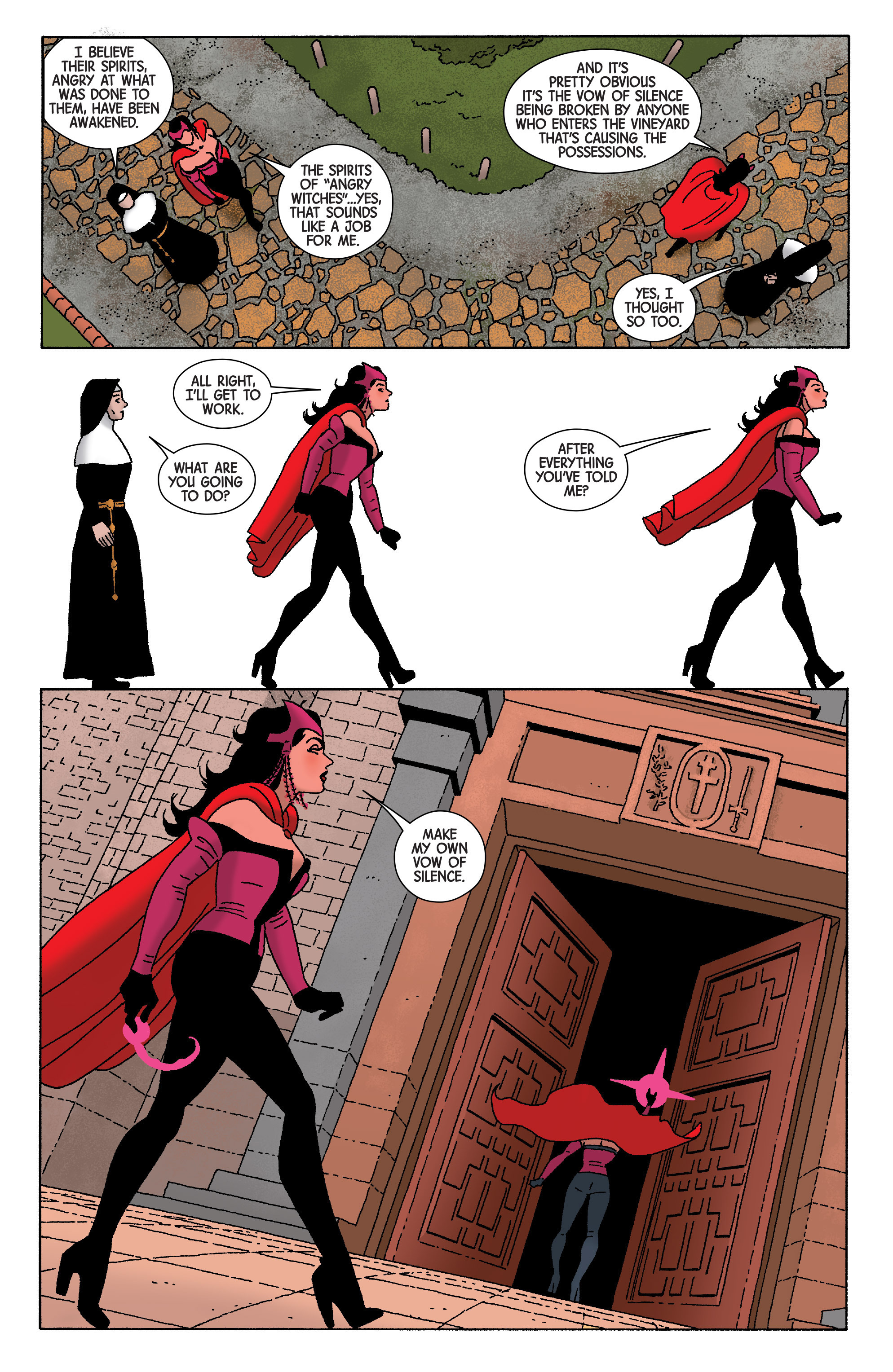 Read online Scarlet Witch (2016) comic -  Issue #5 - 6