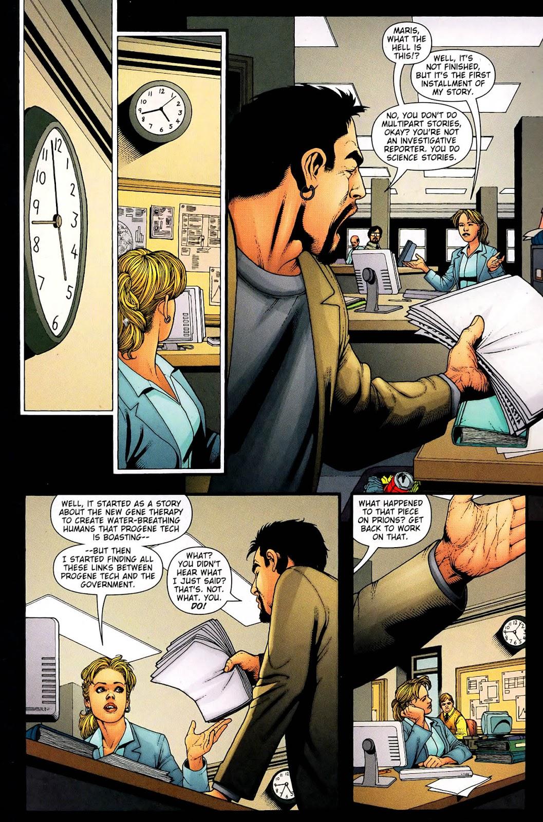Aquaman (2003) Issue #33 #33 - English 16