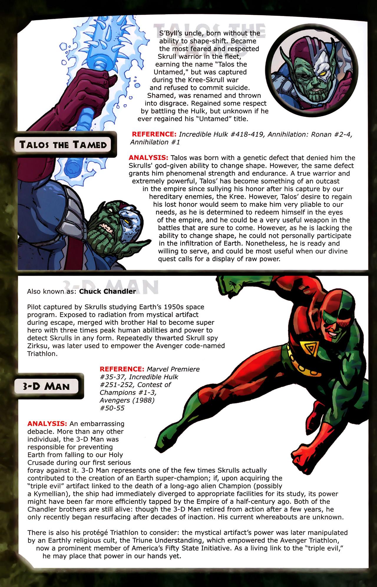 Read online Skrulls! comic -  Issue # Full - 50