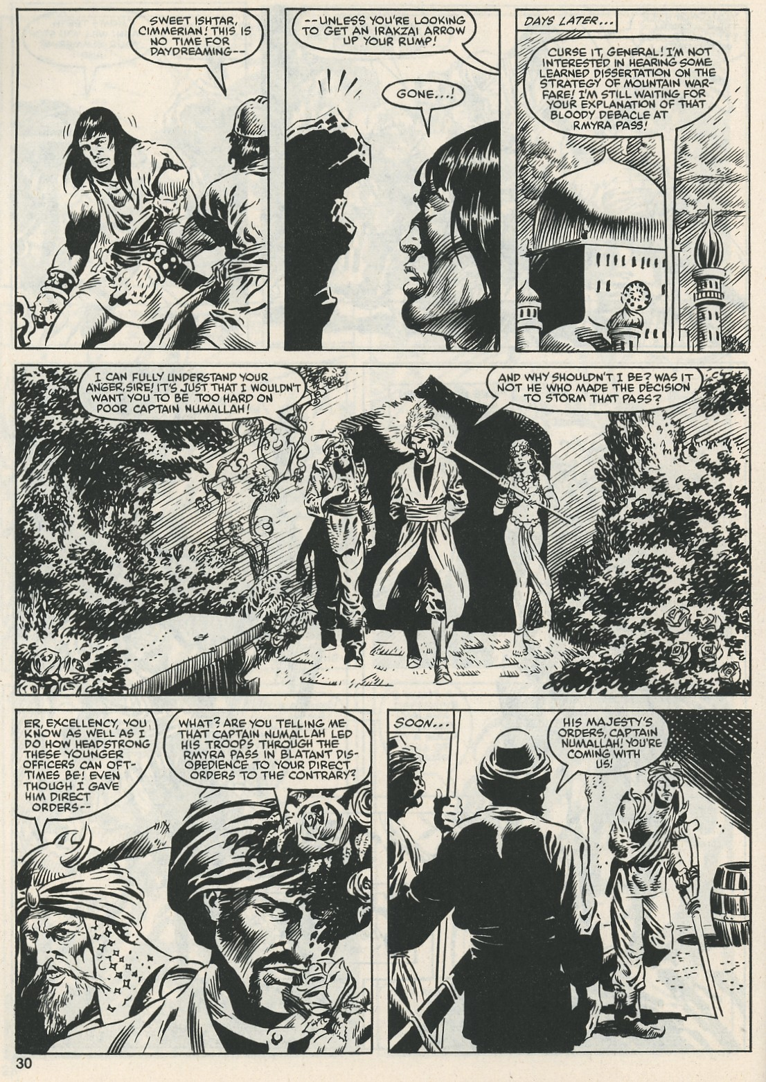The Savage Sword Of Conan Issue #112 #113 - English 31