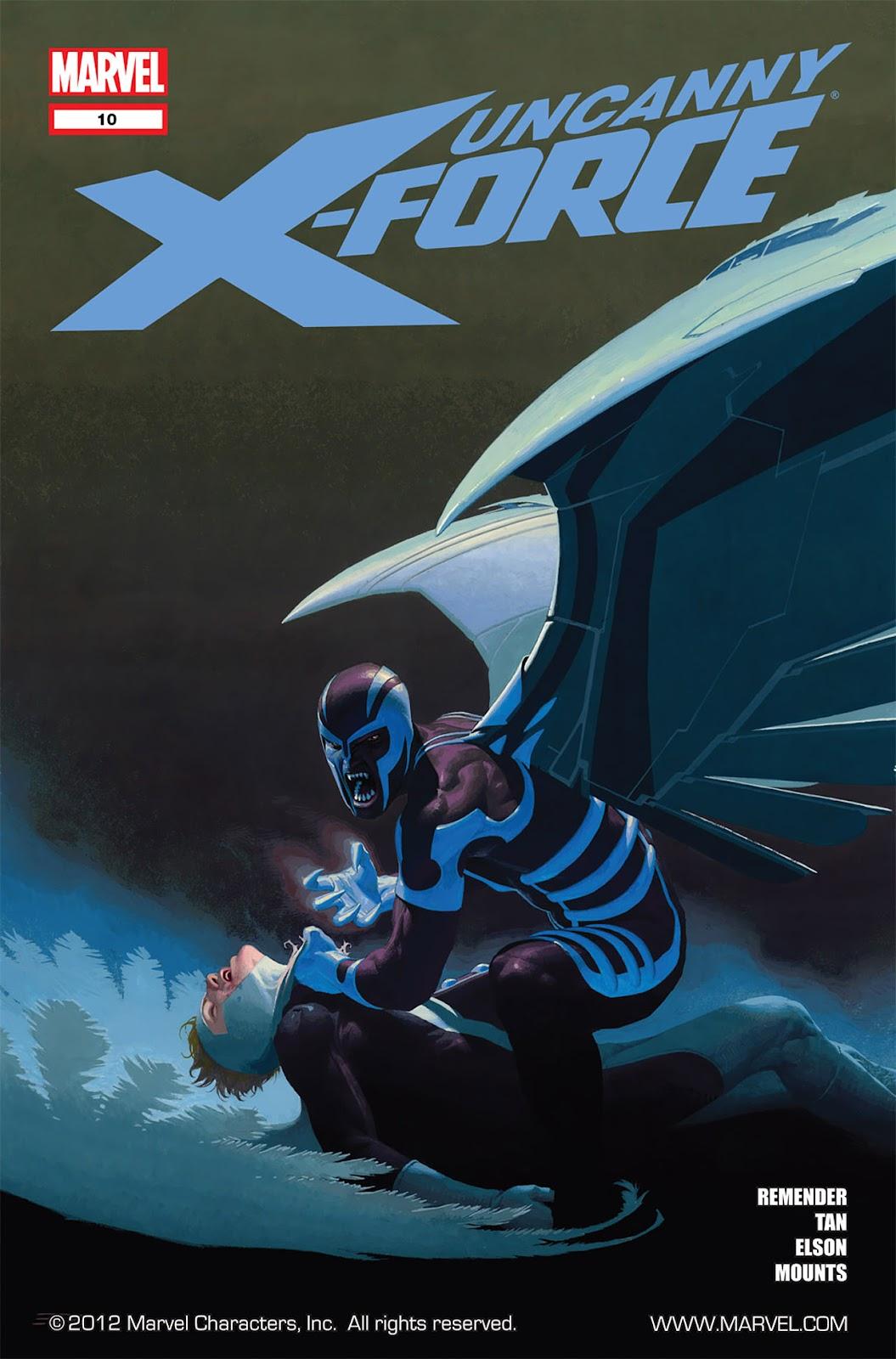 Uncanny X-Force (2010) Issue #10 #11 - English 1