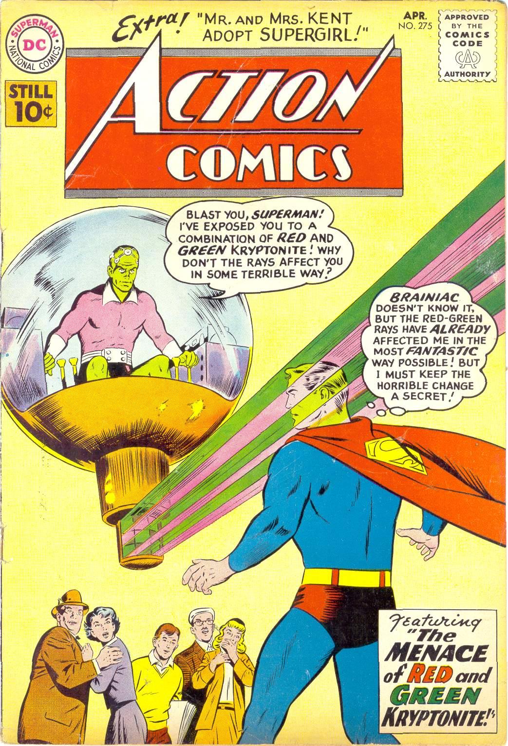 Action Comics (1938) 275 Page 1