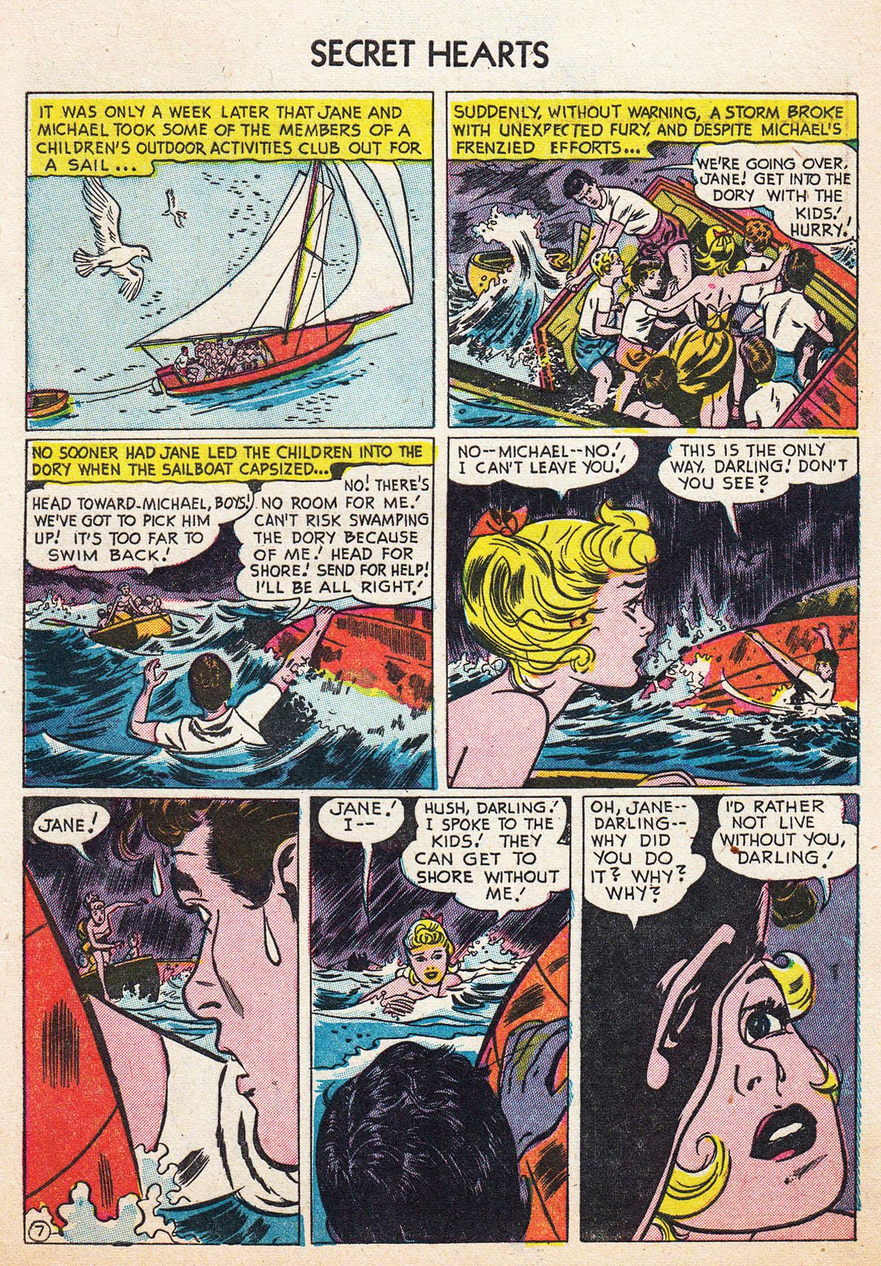 Read online Secret Hearts comic -  Issue #13 - 9