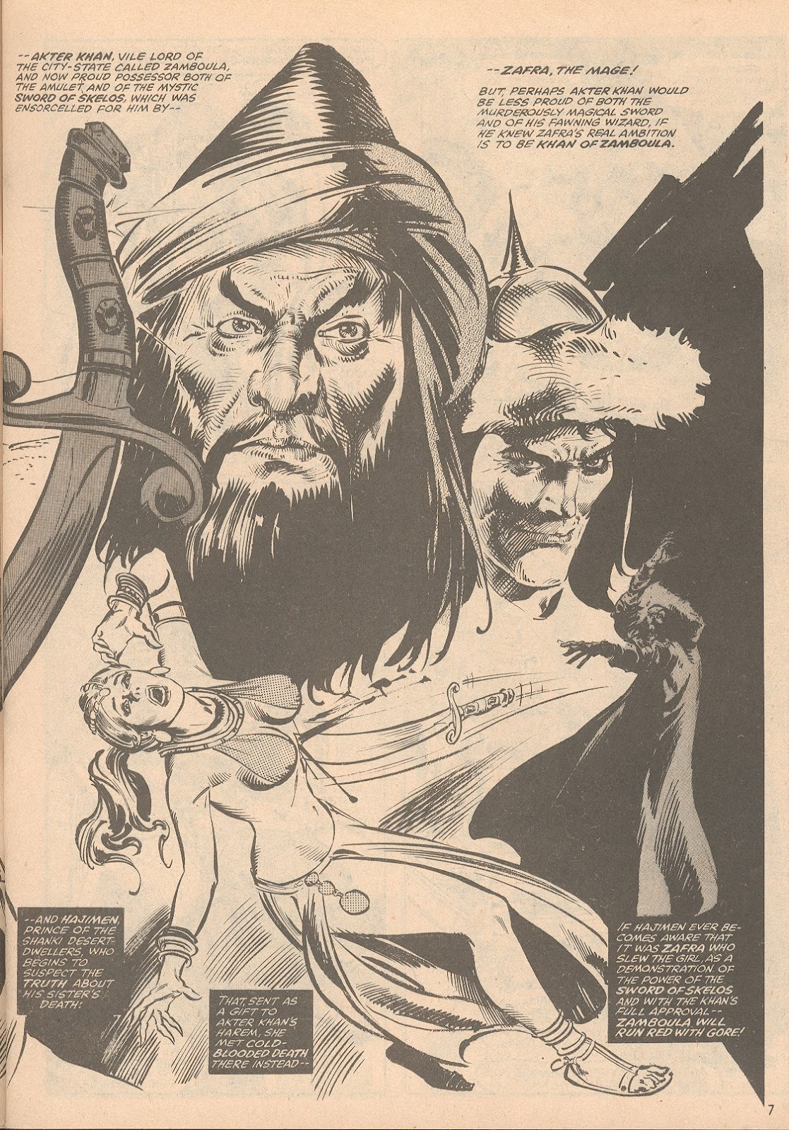 The Savage Sword Of Conan Issue #58 #59 - English 8