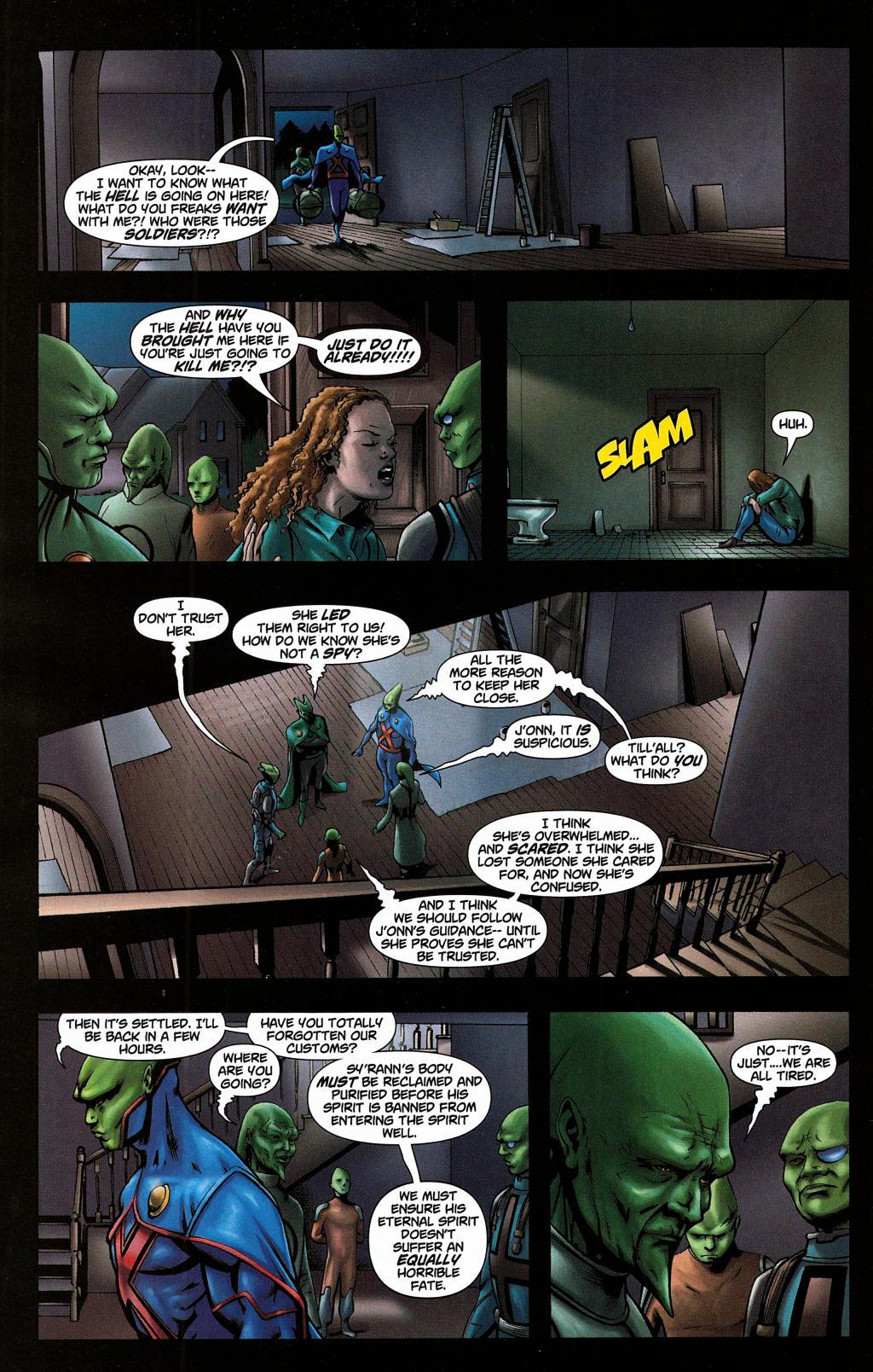 Read online Martian Manhunter (2006) comic -  Issue #5 - 8