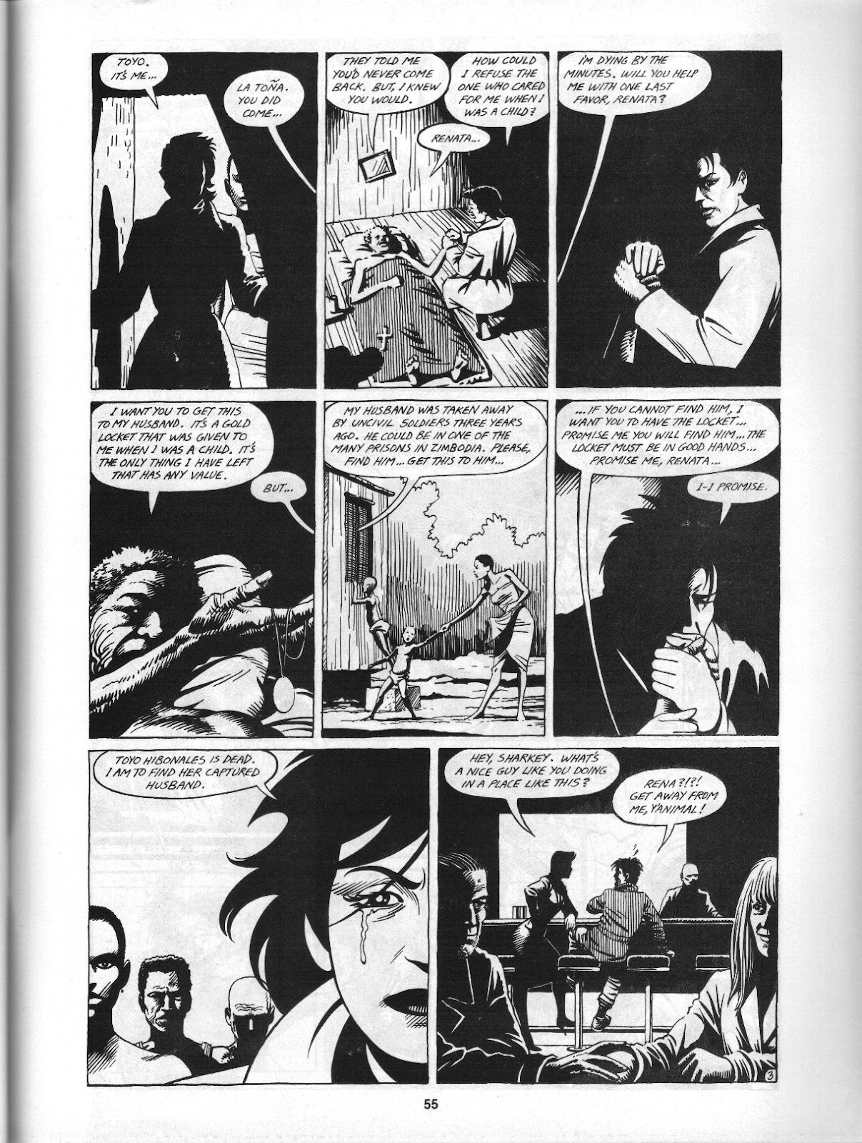 Love and Rockets (1982) Issue #3 #2 - English 57