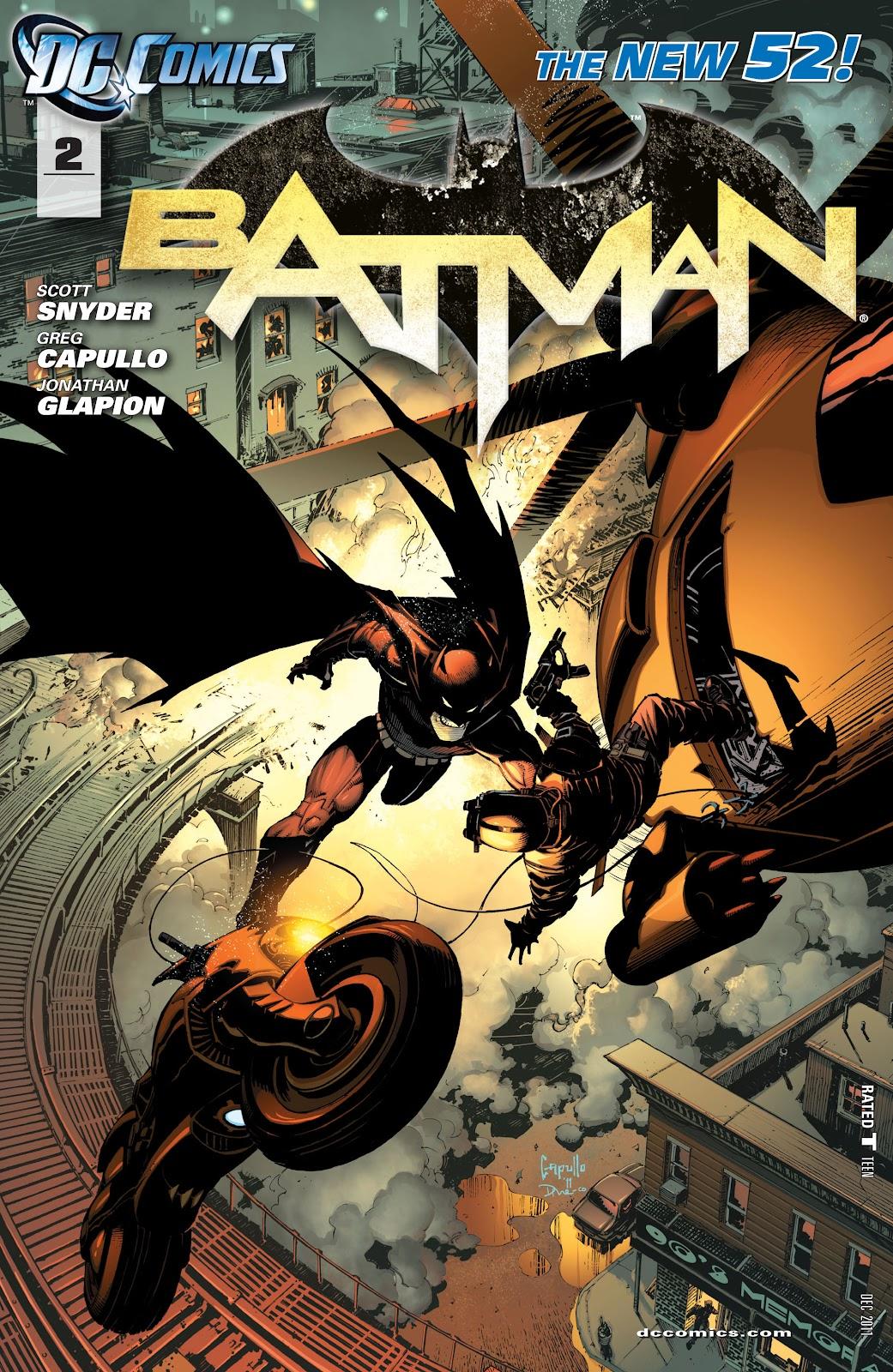 Batman (2011) Issue #2 #17 - English 1