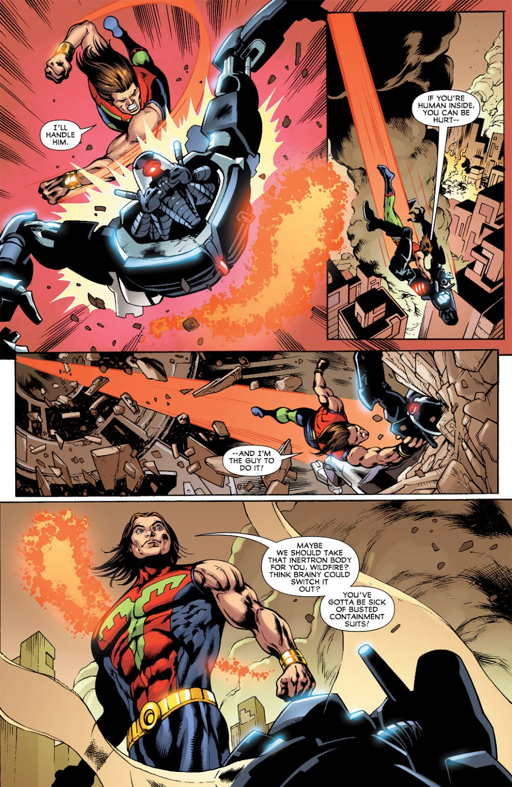 Legion of Super-Heroes (2010) Issue #14 #15 - English 7