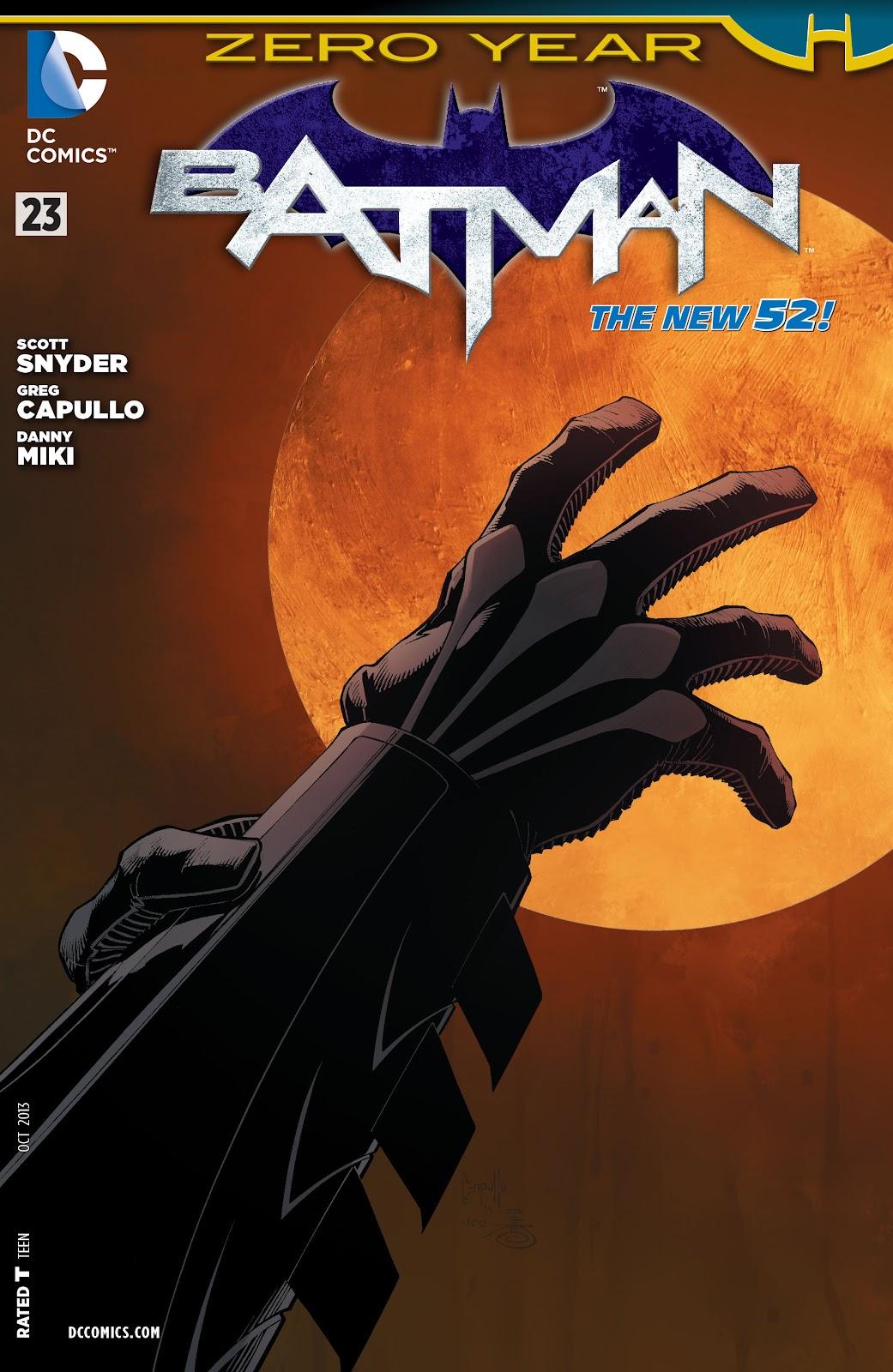 Batman (2011) Issue #23 #38 - English 29