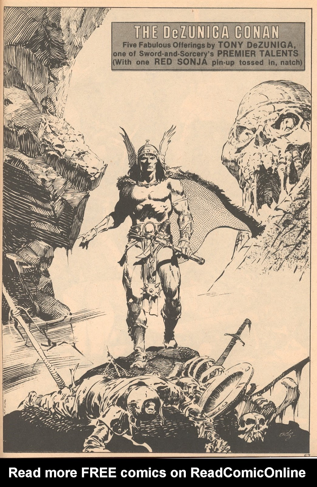 The Savage Sword Of Conan Issue #56 #57 - English 57