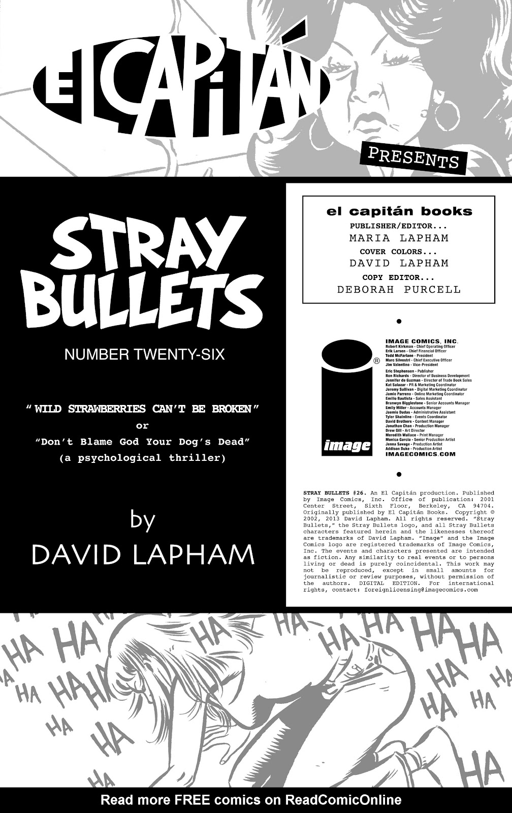 Stray Bullets Issue #26 #26 - English 2