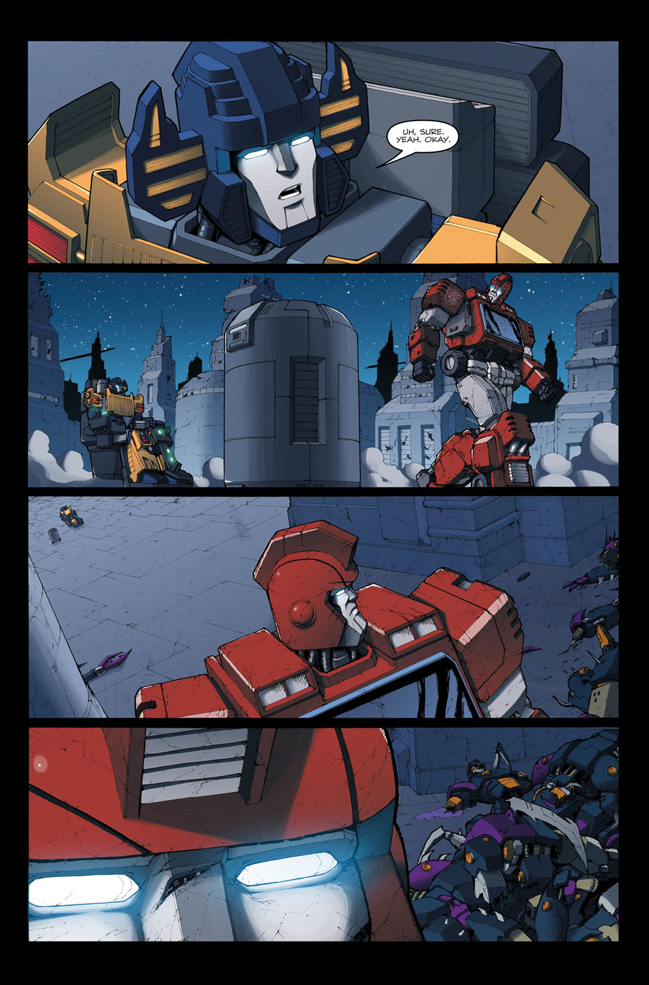 Read online The Transformers: Ironhide comic -  Issue #4 - 25